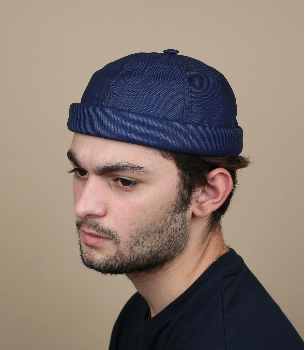Mütze Docker navy blau