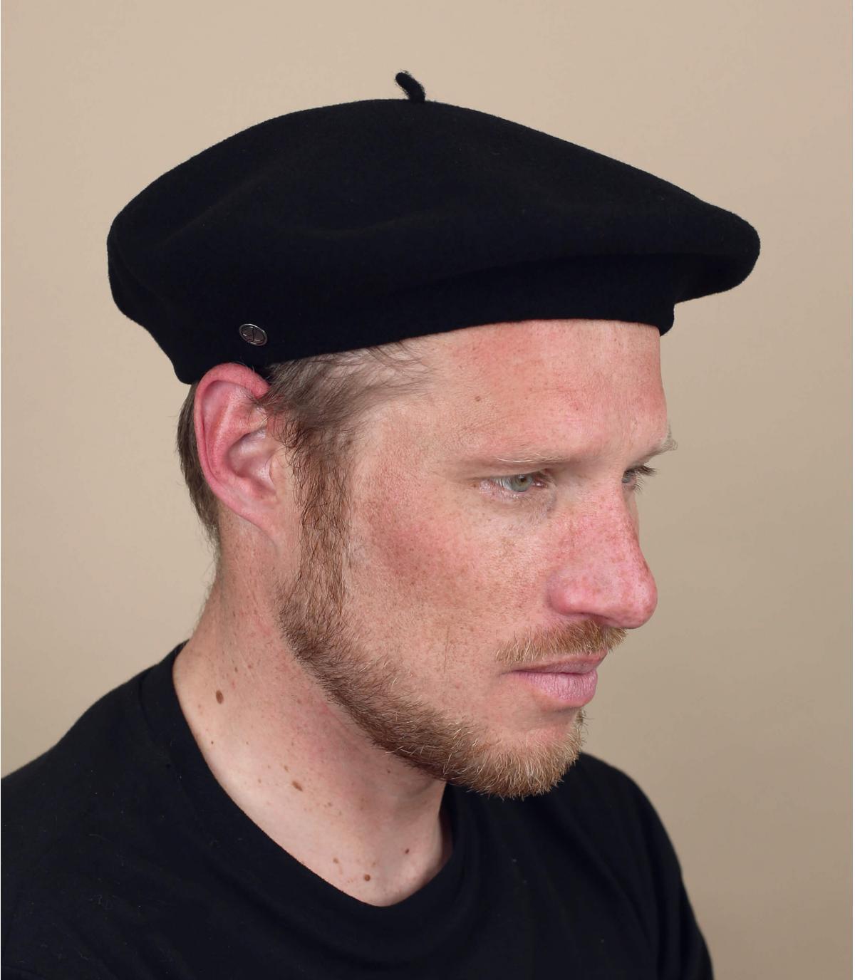 Französiches Barett traditionell Herren