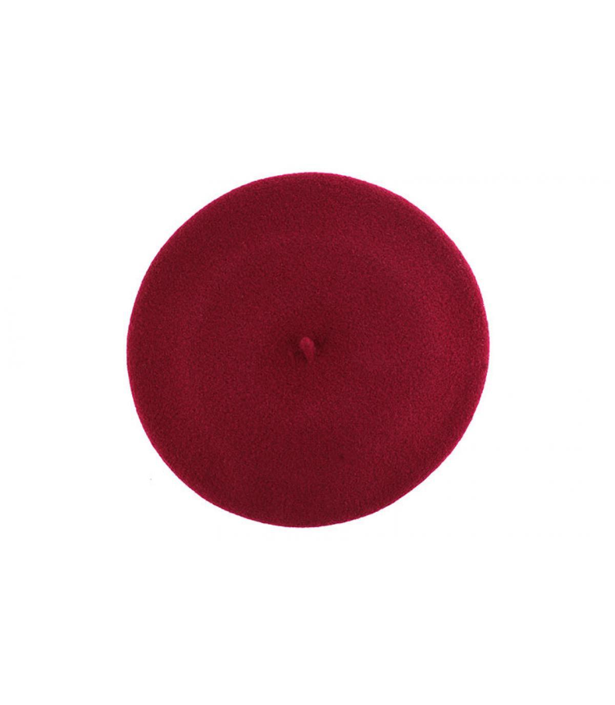 Barett elastisch rot
