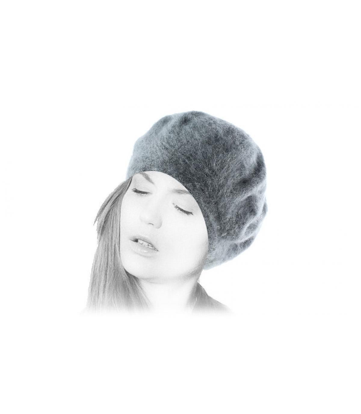 Mütze Angora Damen
