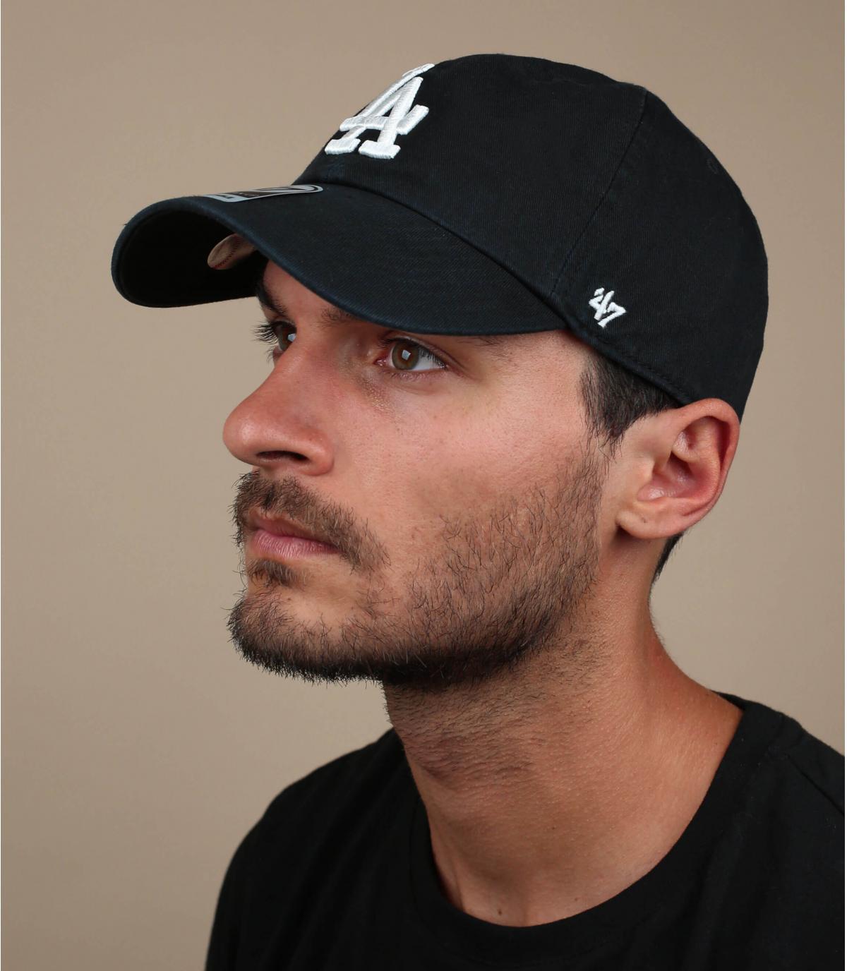 Cap LA schwarz