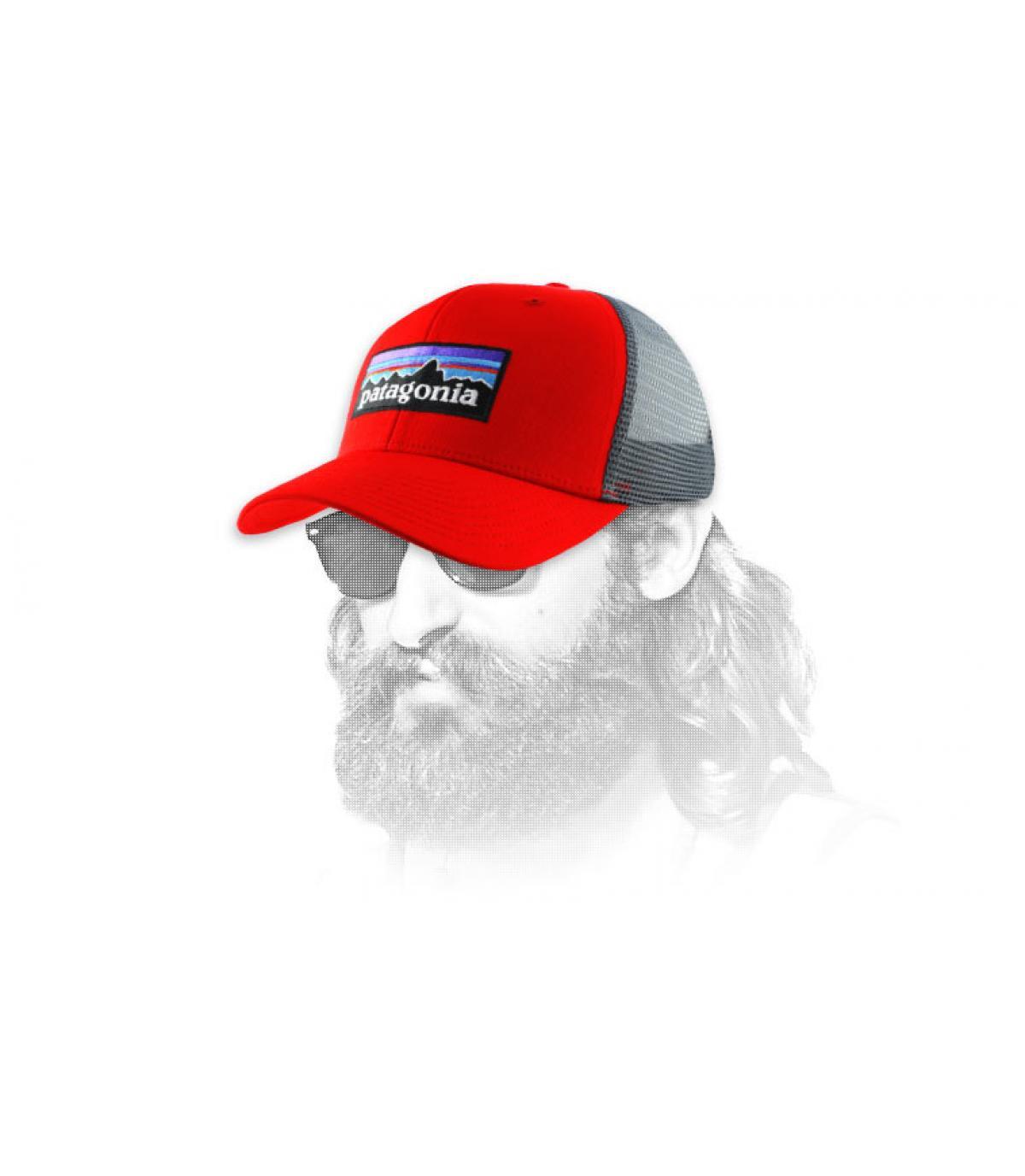 Netz Cap rot