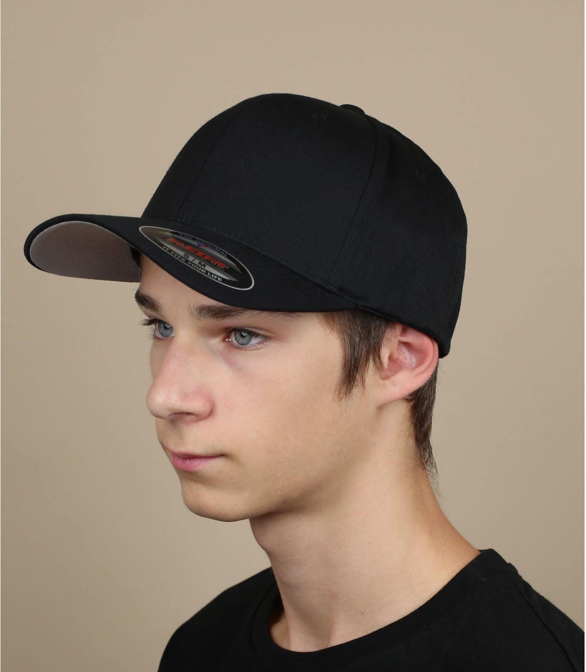 Cap schwarz flexfit