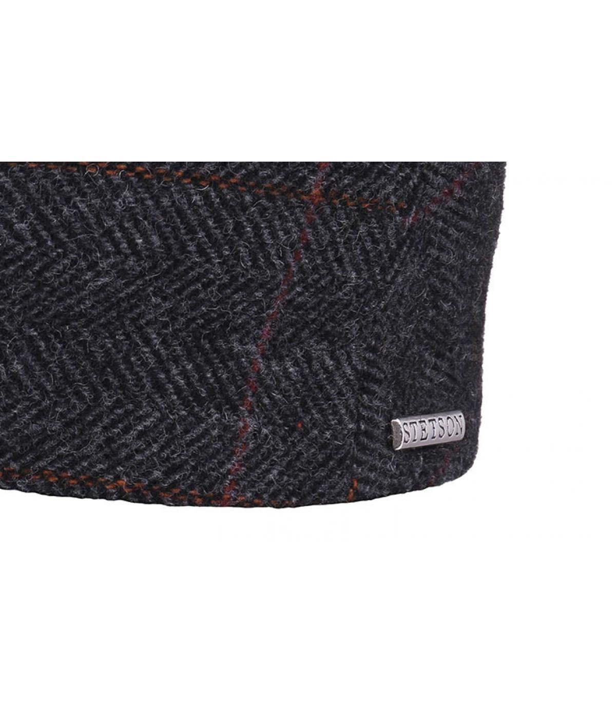 Details Kent wool Earflap grey - Abbildung 3