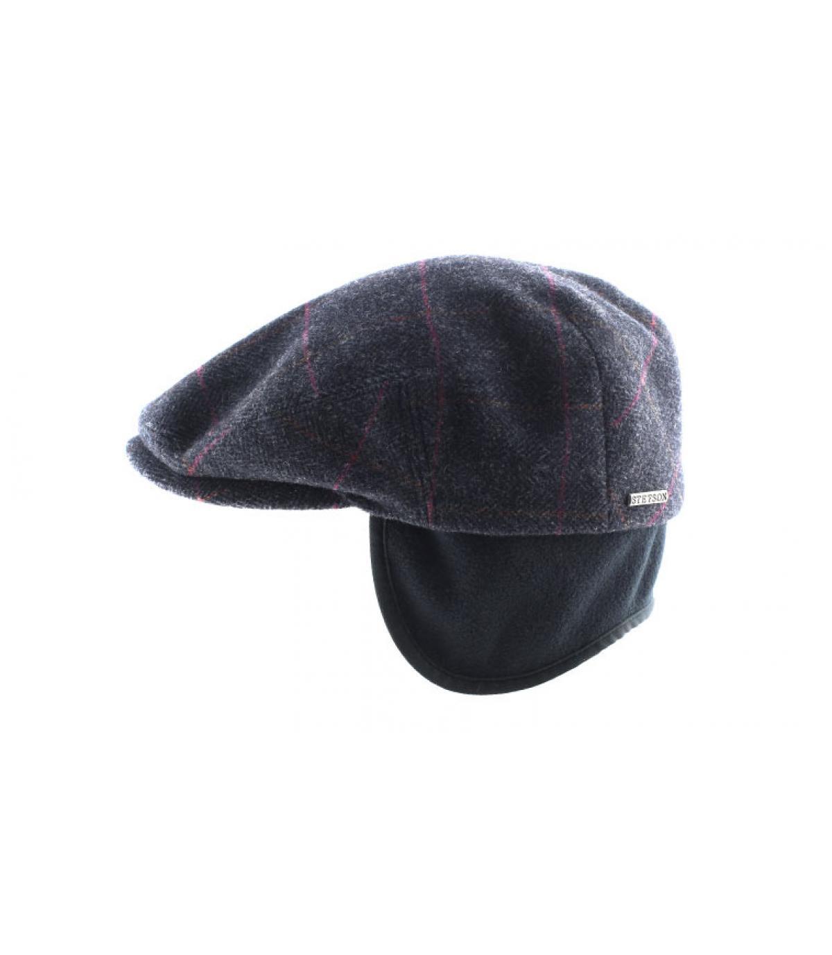 Details Kent wool Earflap grey - Abbildung 4
