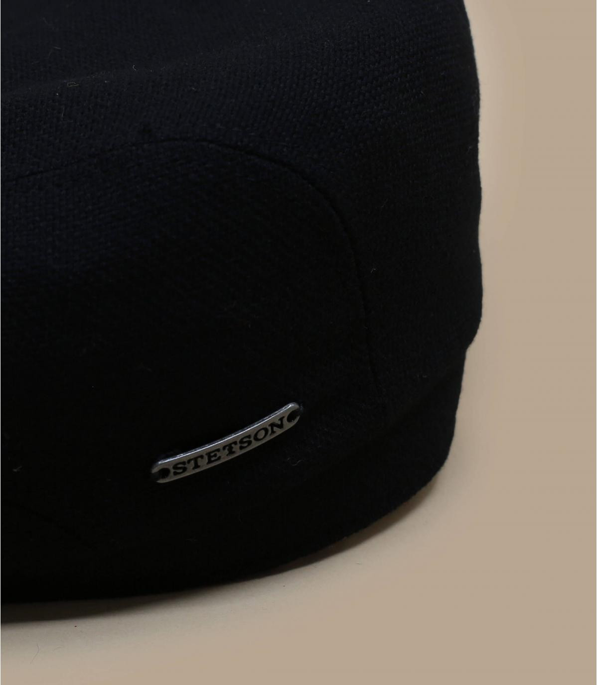 Details Belfast virgin wool cashmere black - Abbildung 2
