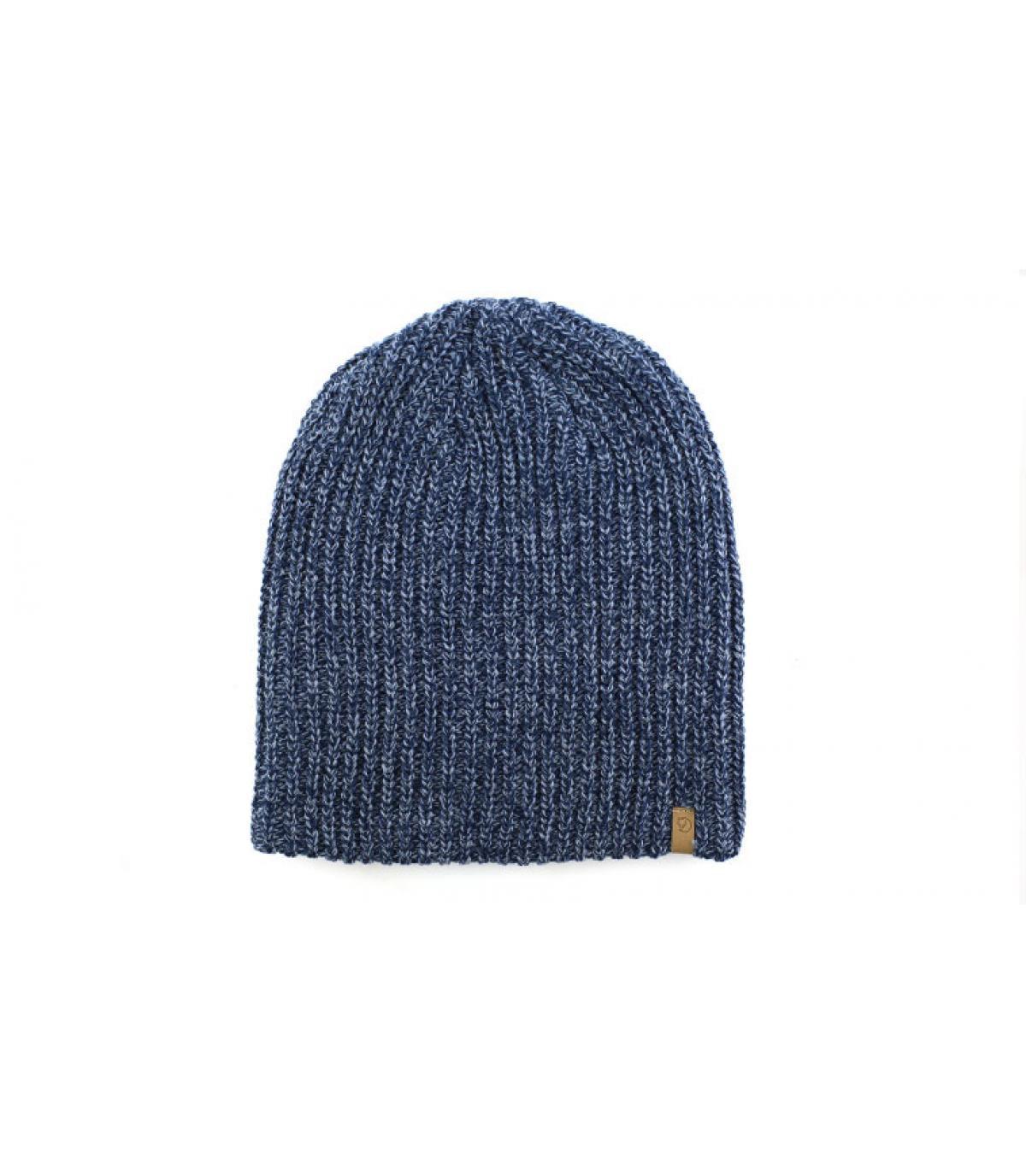 Beanie blau lange Mütze
