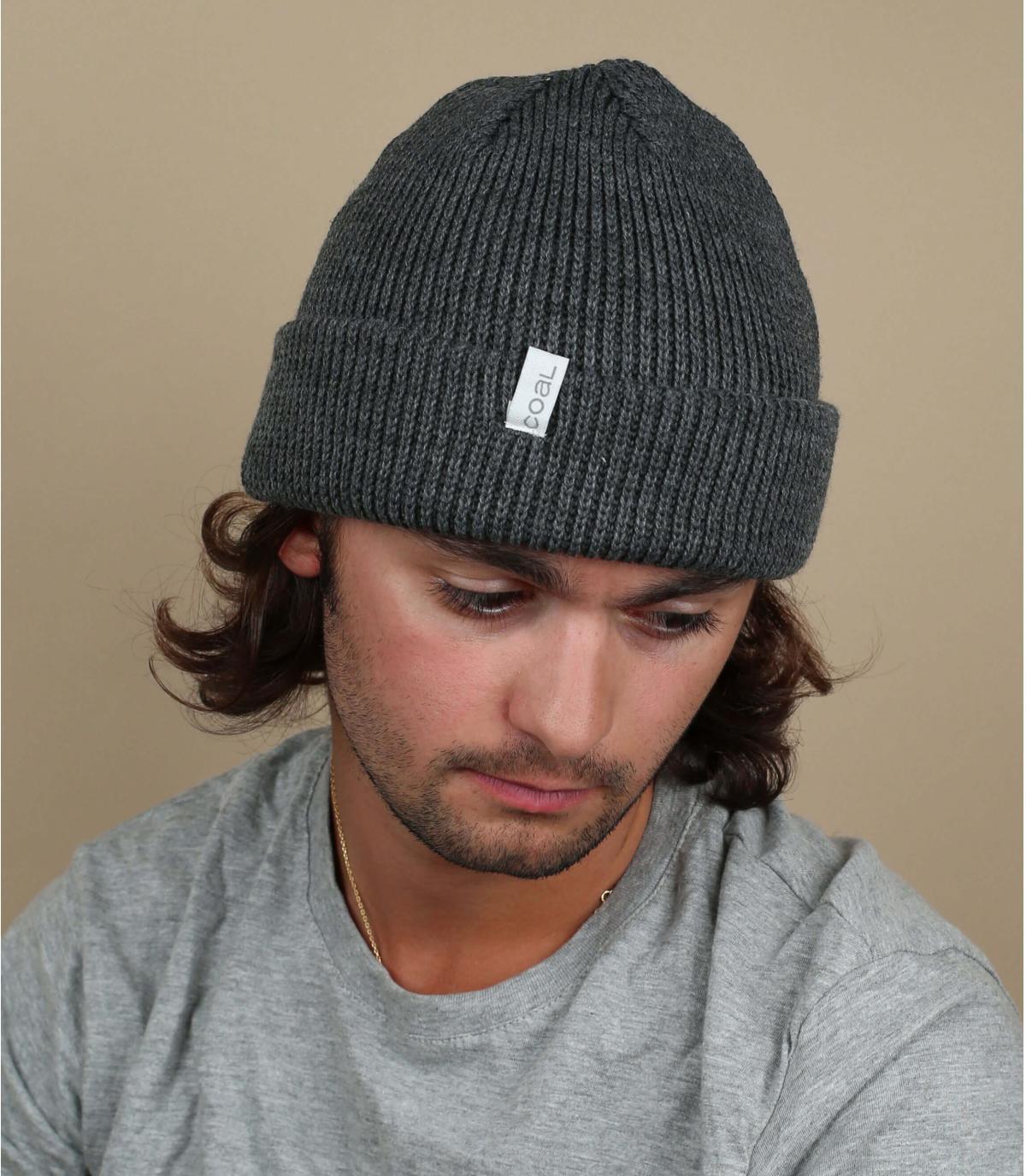 Mütze Frena solid charcoal