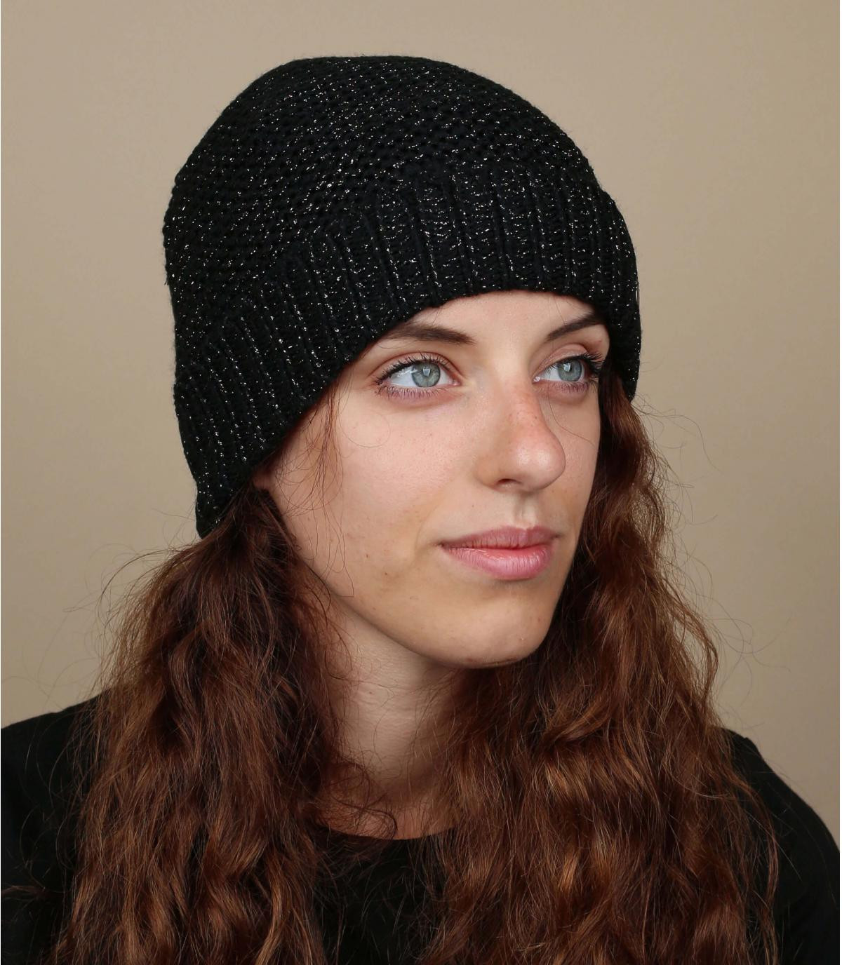 Mütze schwarz gefüttert