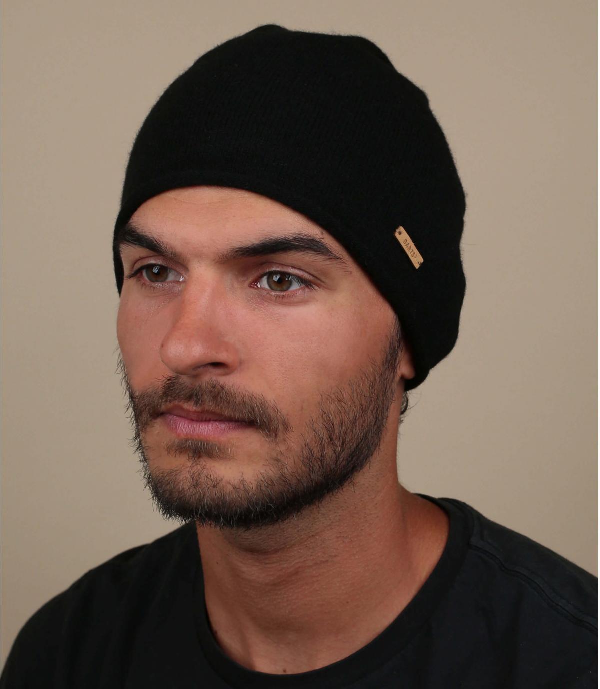Mütze Kaschmir schwarz
