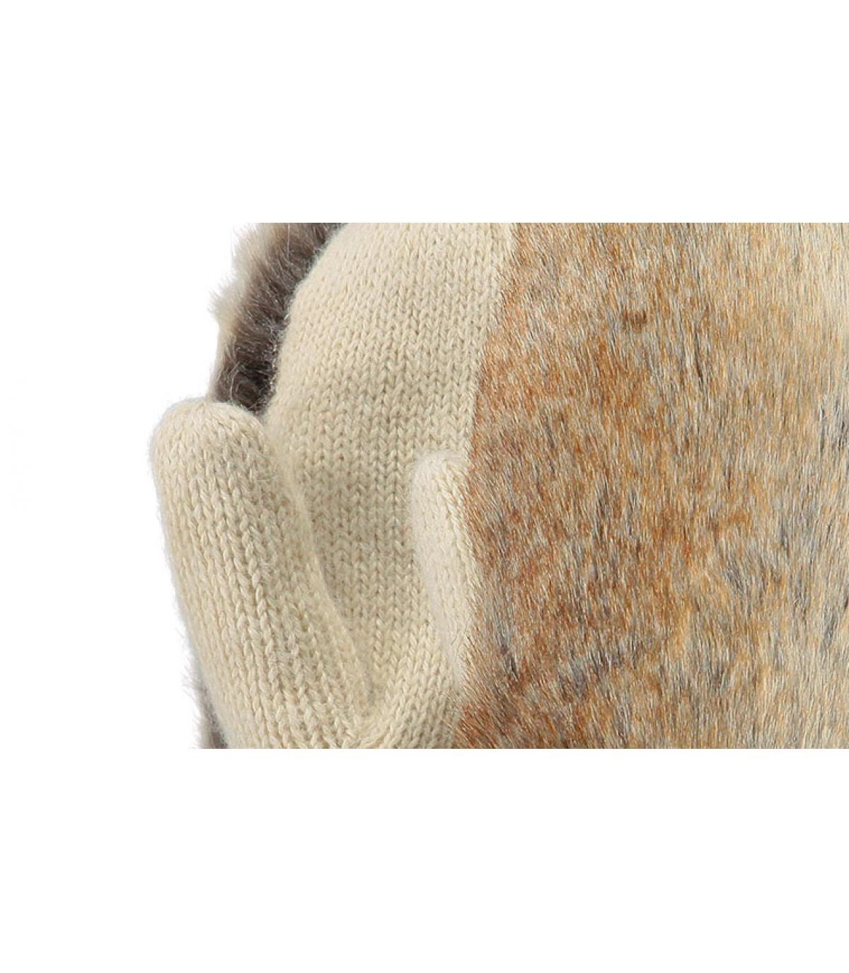 Details Amaranth paws beige - Abbildung 2