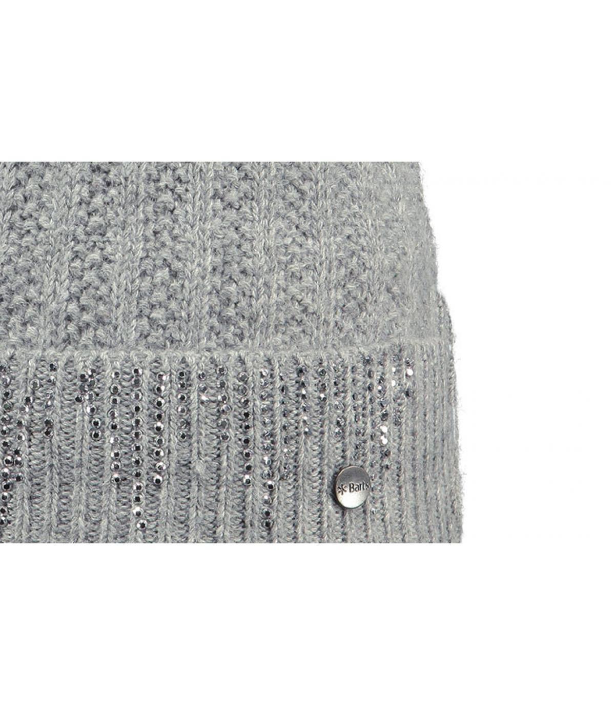 Details Marigold beanie heather grey - Abbildung 3