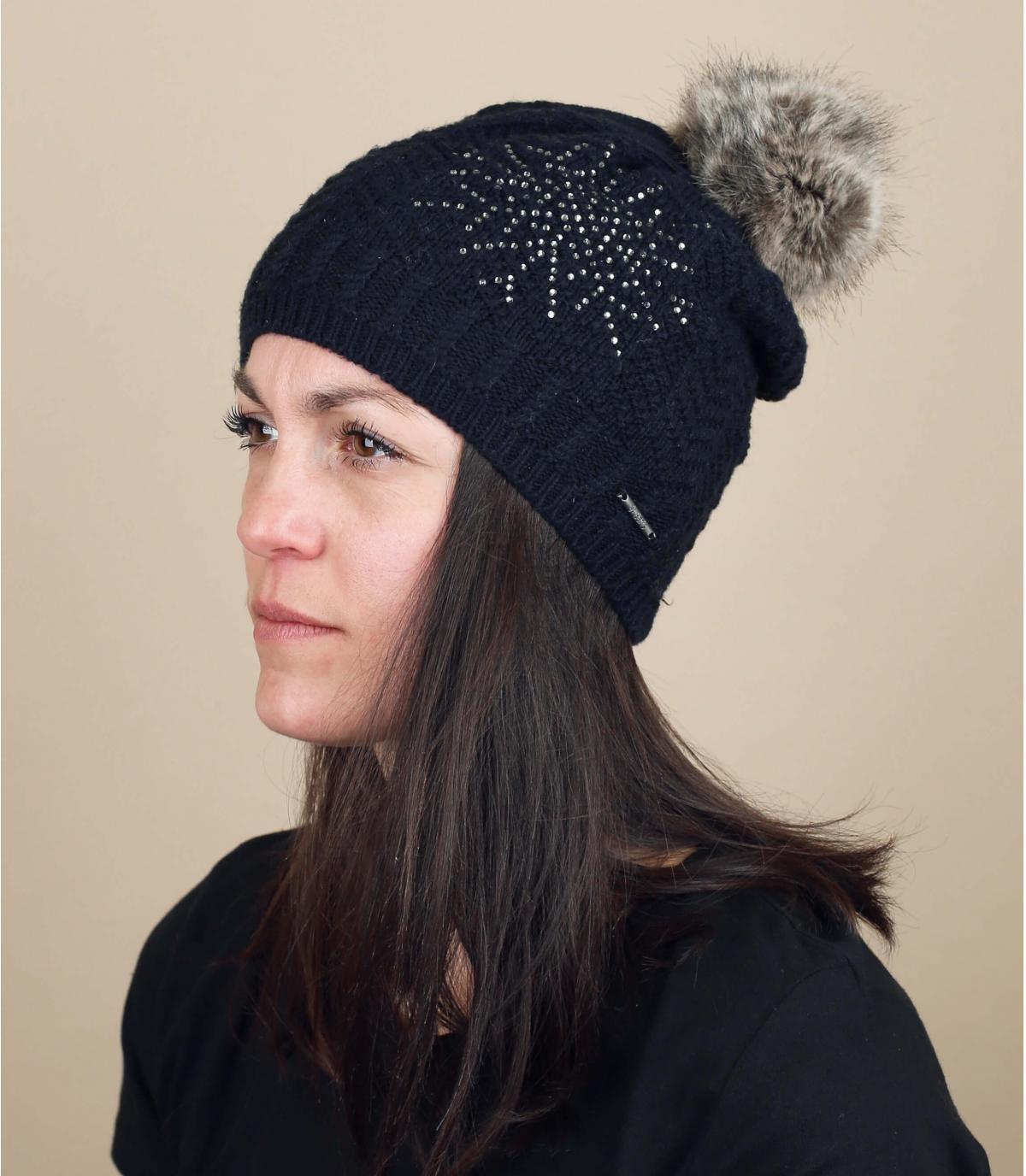Mütze Schneeflocke