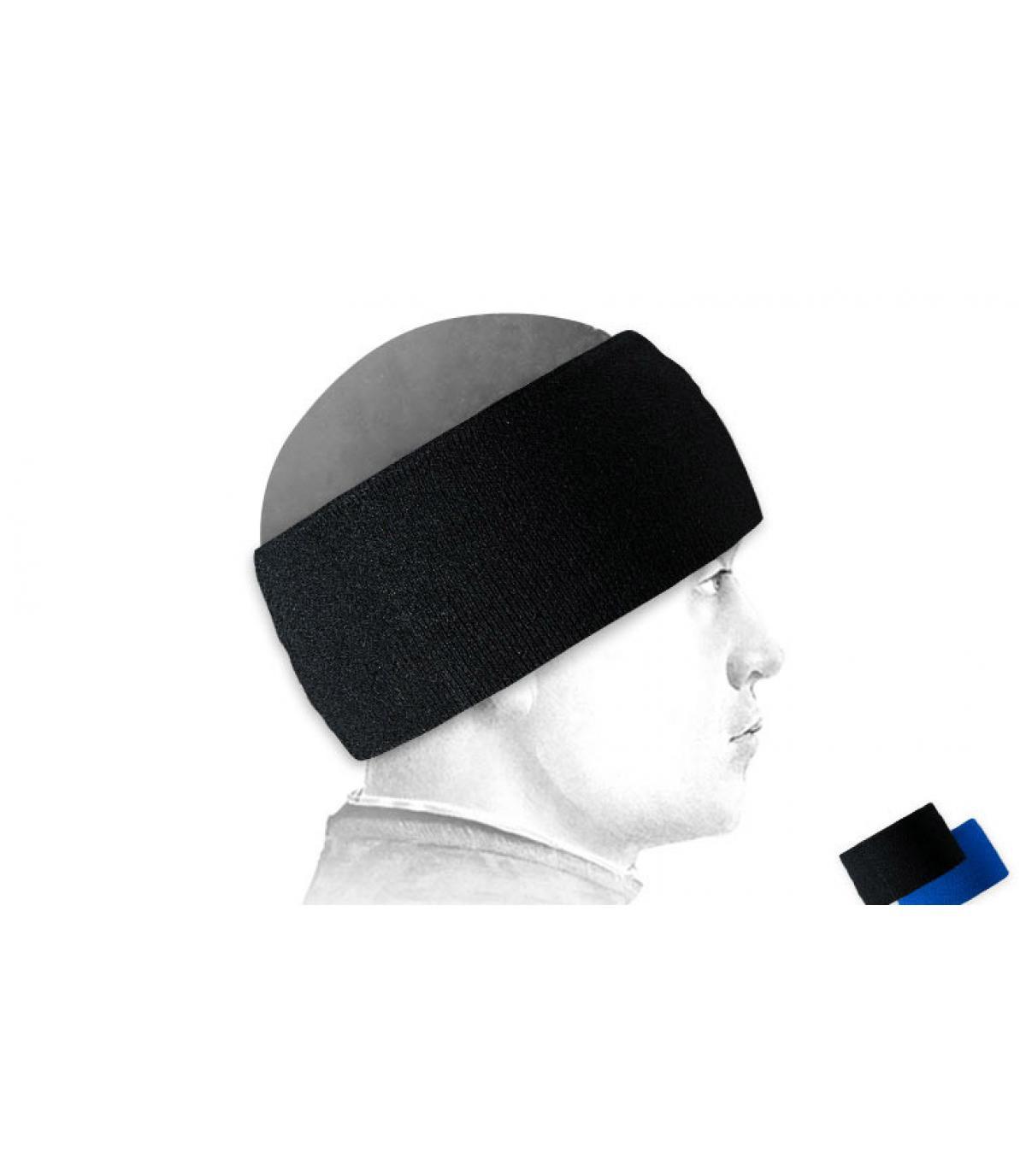 Kopfband ski schwarz