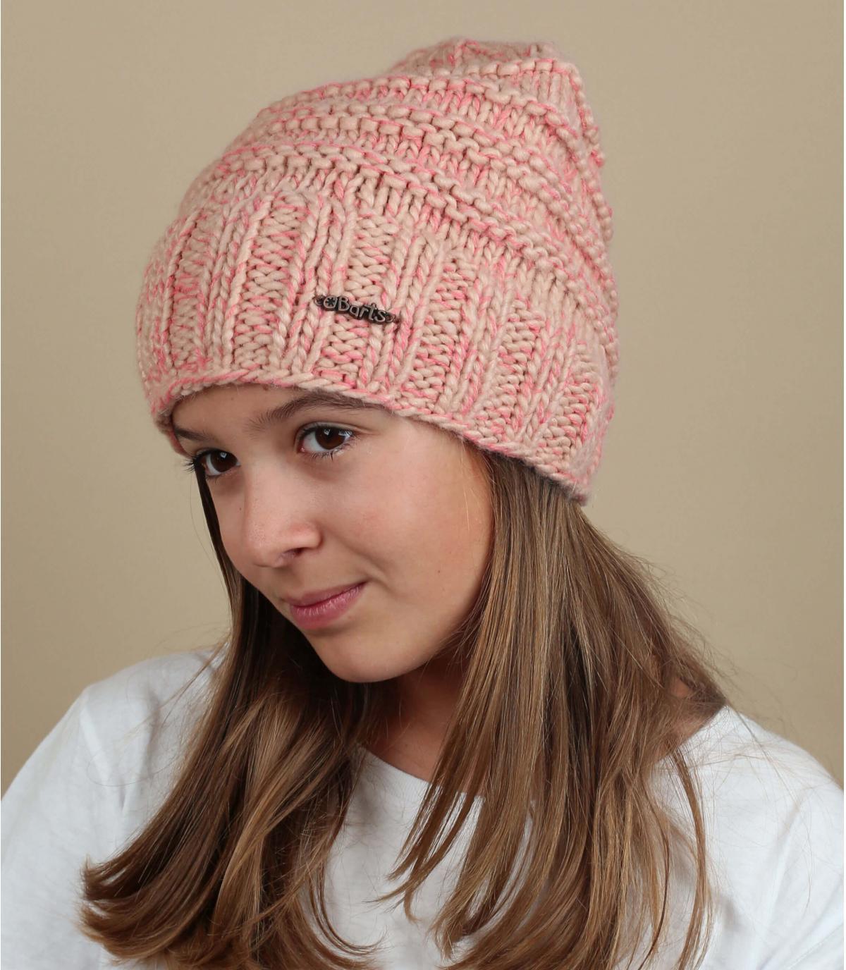 Mütze Mädchen rosa