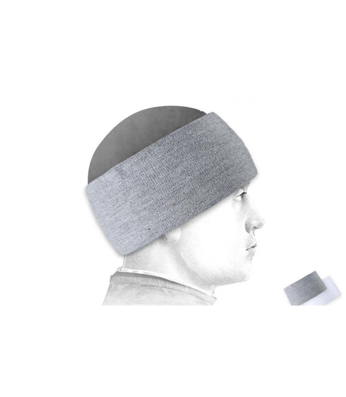 Kopfband ski grau