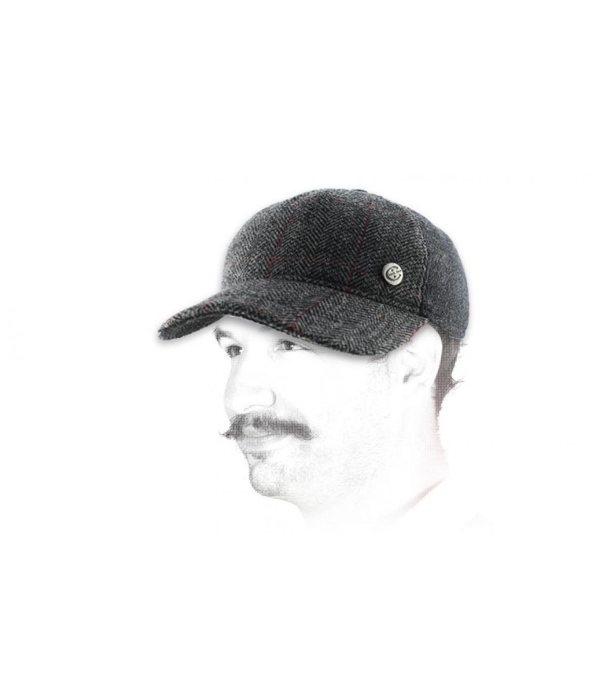 Cap mit Ohrenschutz Ohrenklappen