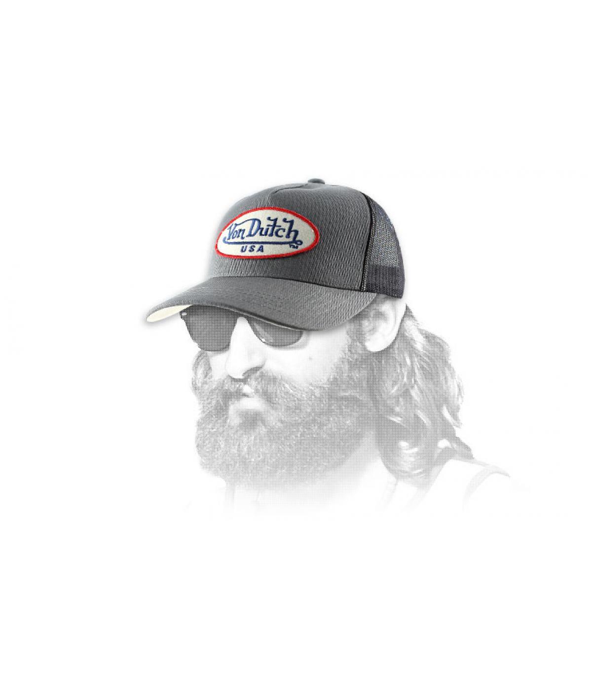 Cap Von Dutch grau Trucker