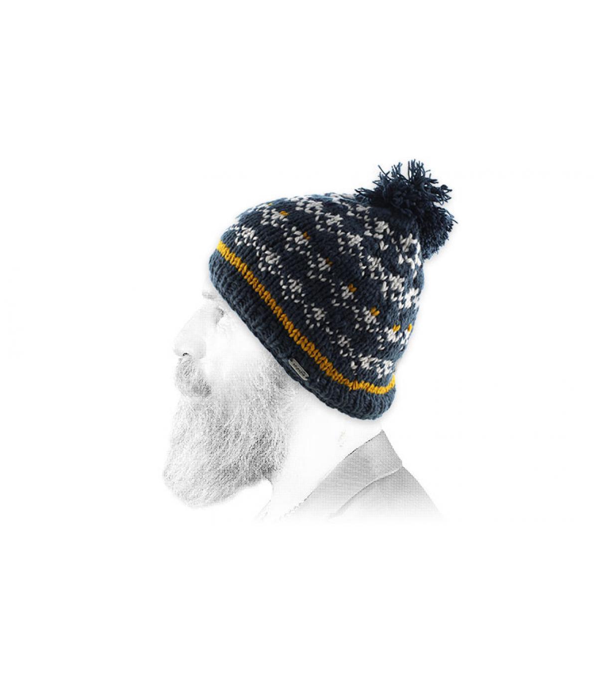 Ski Bommel Mütze