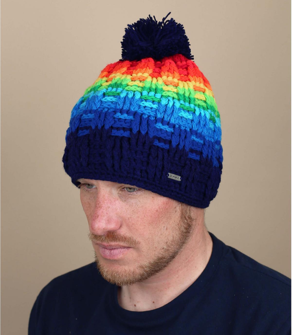 Bommel Mütze flashy