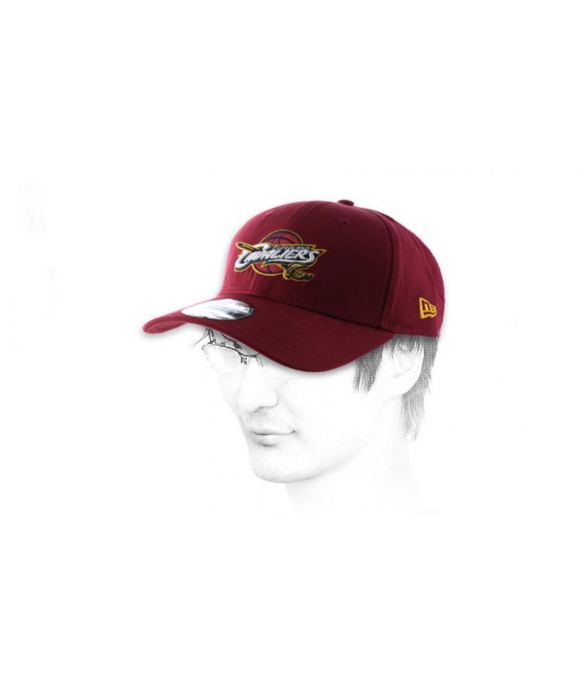 Rosa Cap Cleveland Cavaliers