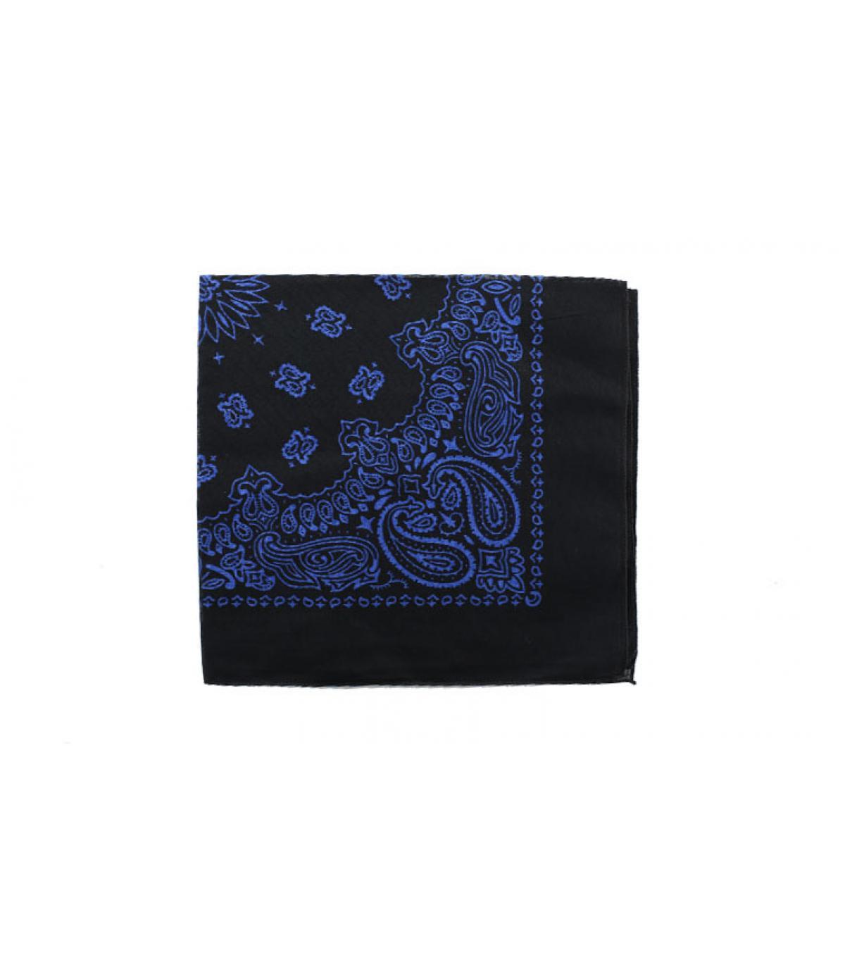 Bandana schwarz blau