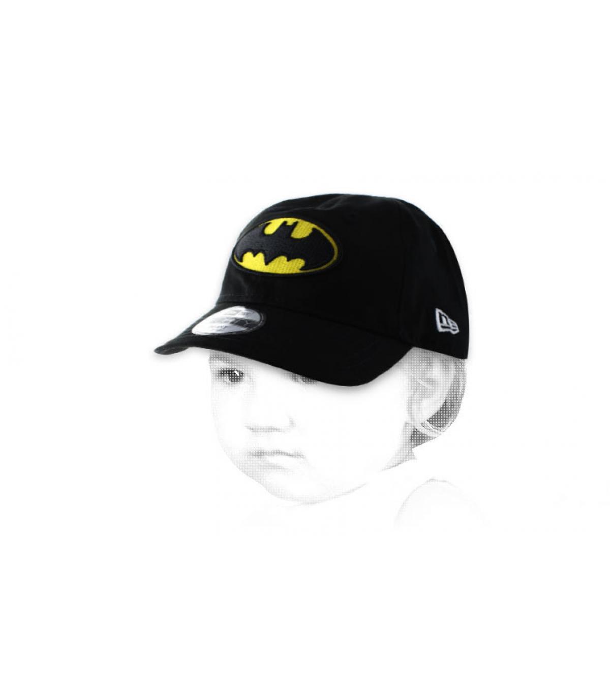Baby Cap Batman schwarz