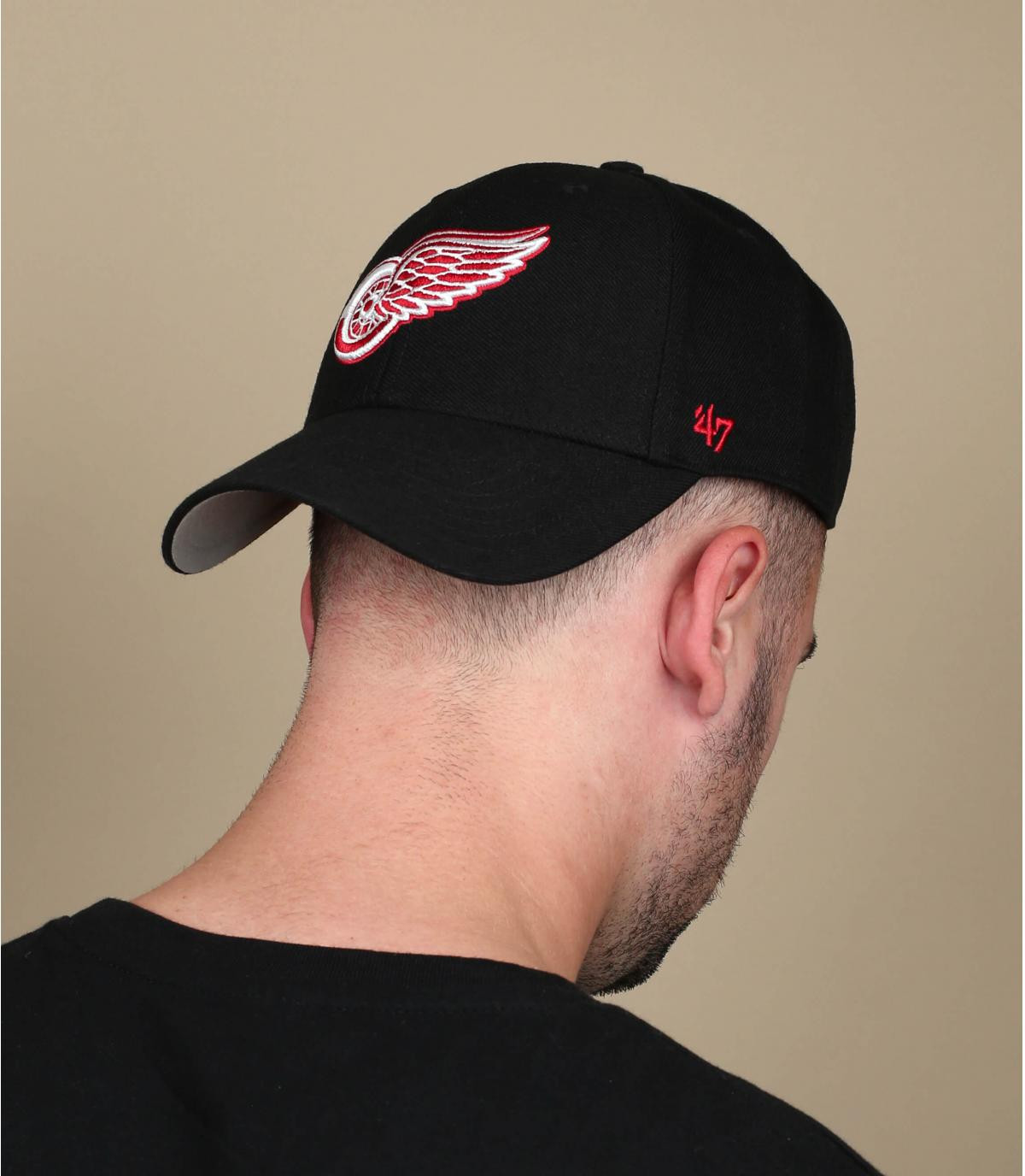 Cap Detroit schwarz