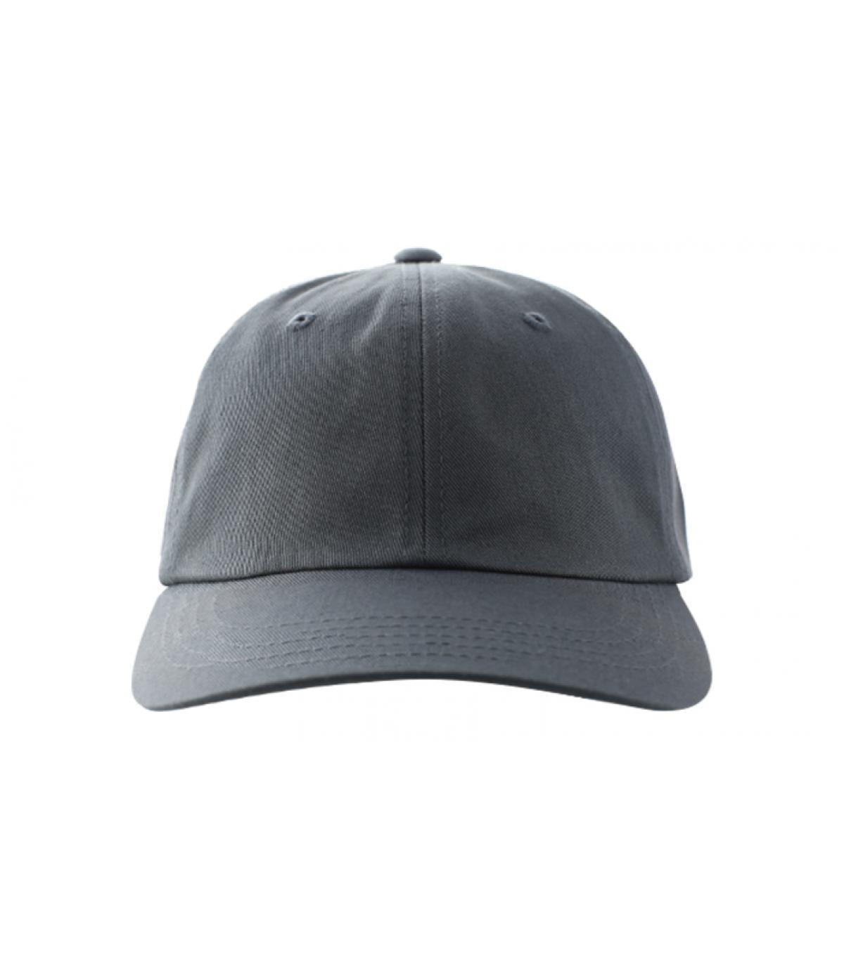 Dad hat blank dark grey