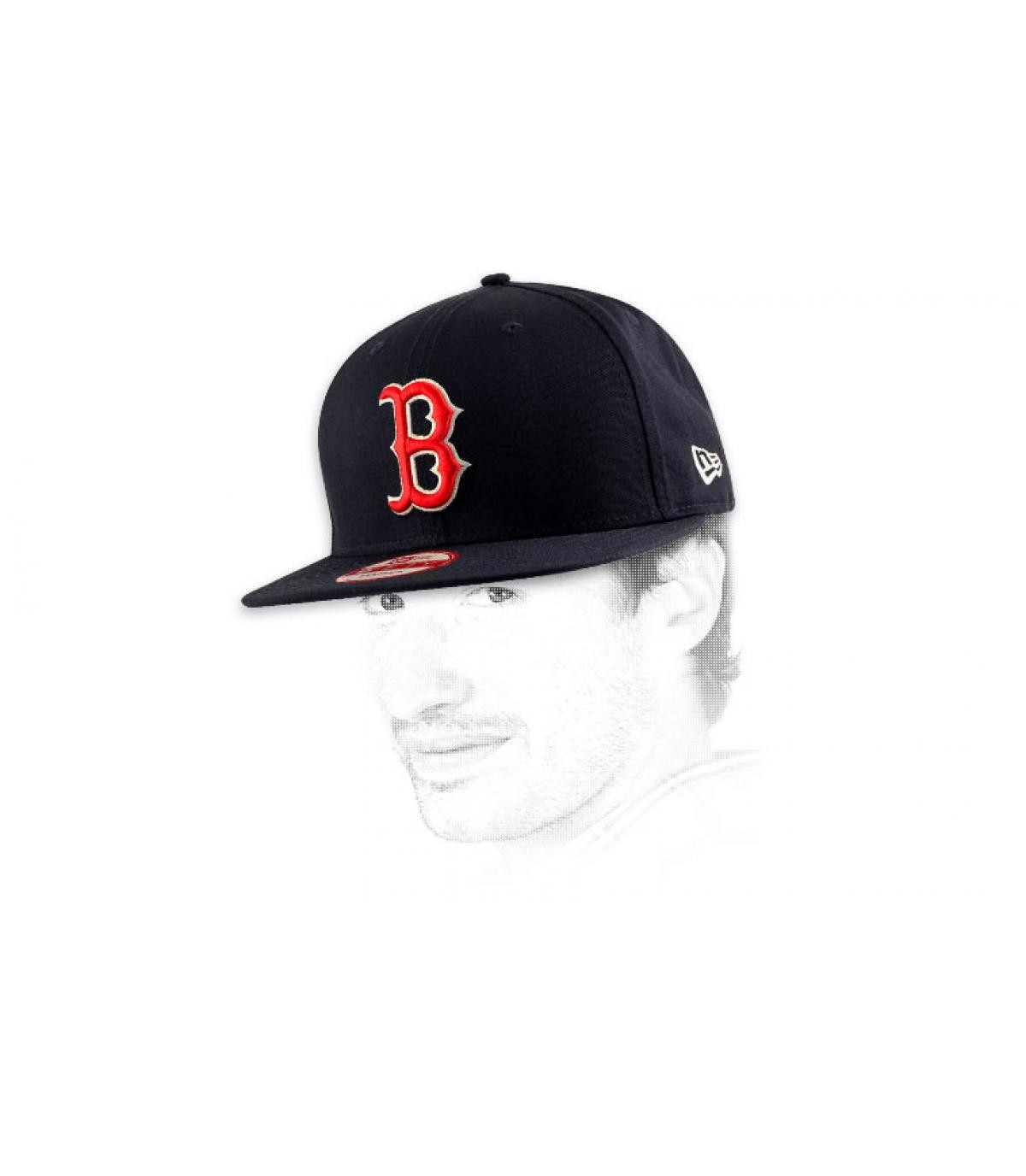 Details Snapback Boston team - Abbildung 7