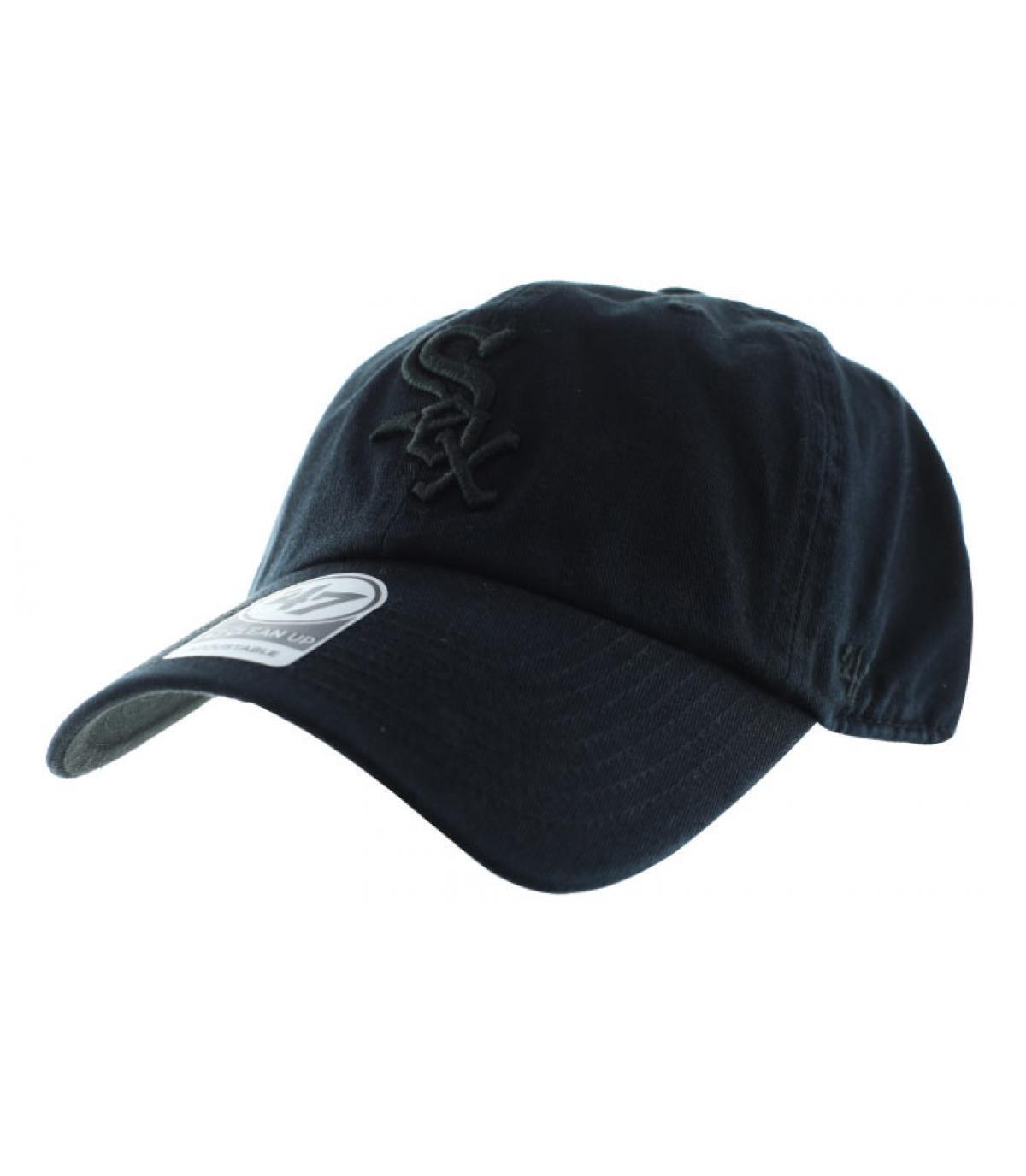 Schwarze Baseball Cap Sox