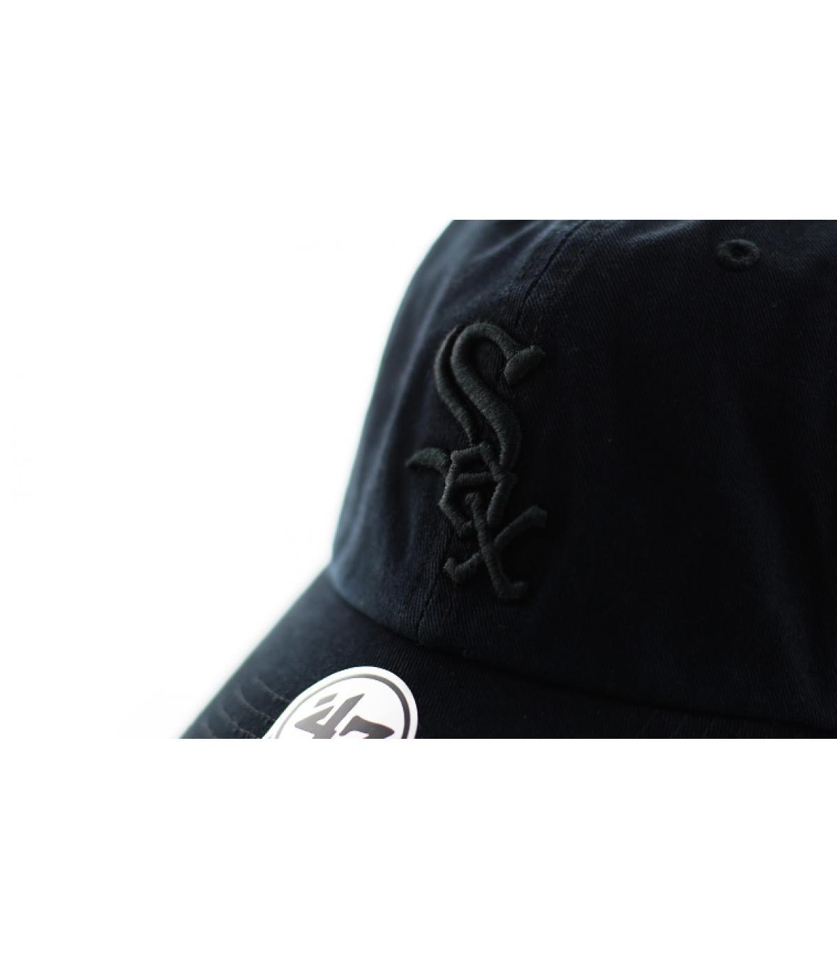 Details Clean Up Sox all black - Abbildung 3