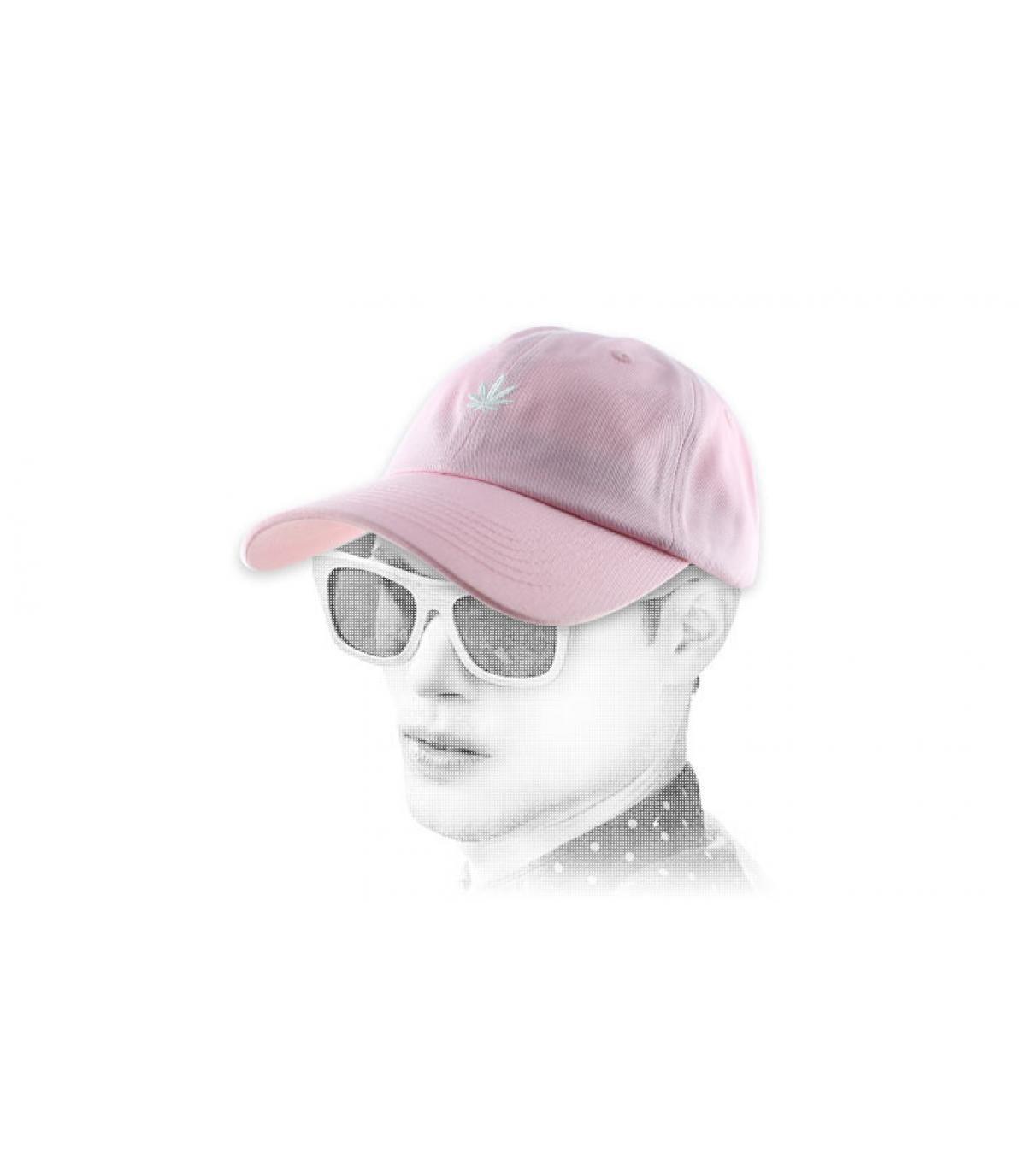 Cannabis Cap rosa