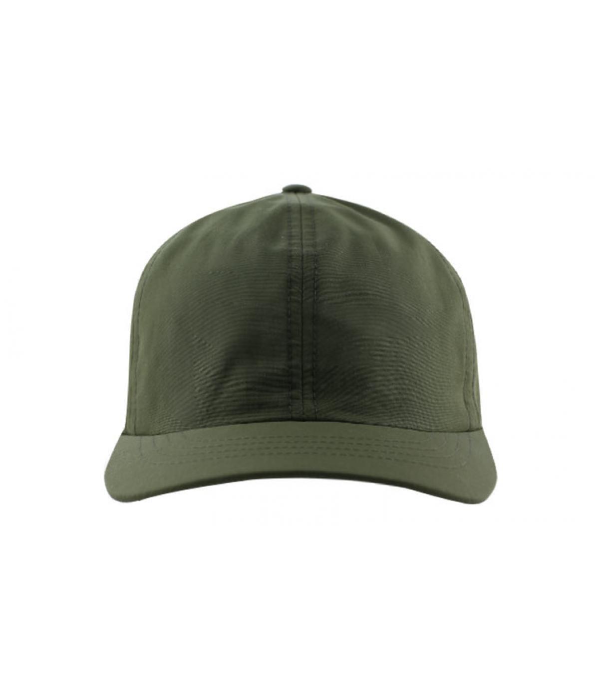 Personalisierung Curved Cap olivgrün