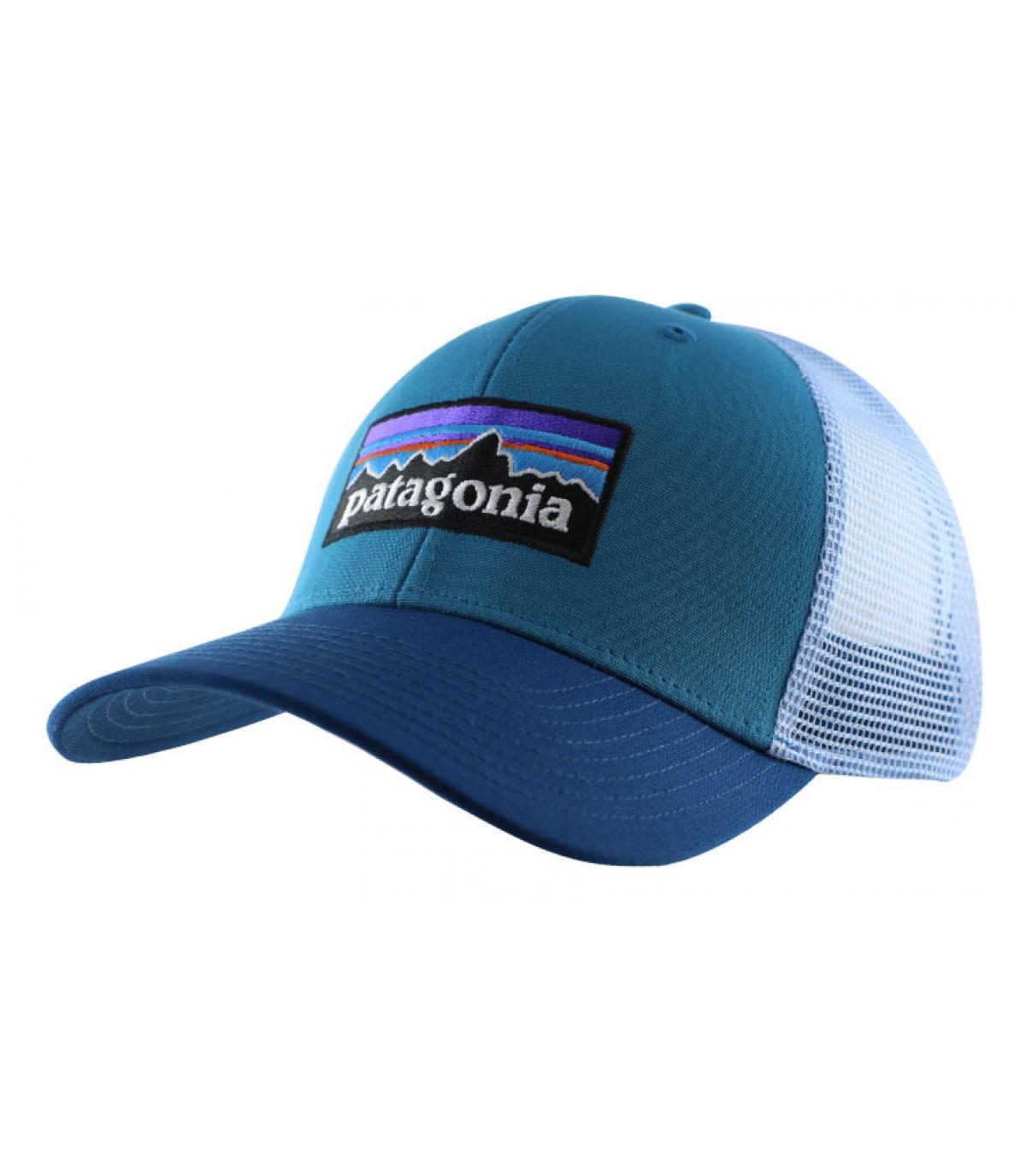 Details P6 Logo Trucker filter blue - Abbildung 2
