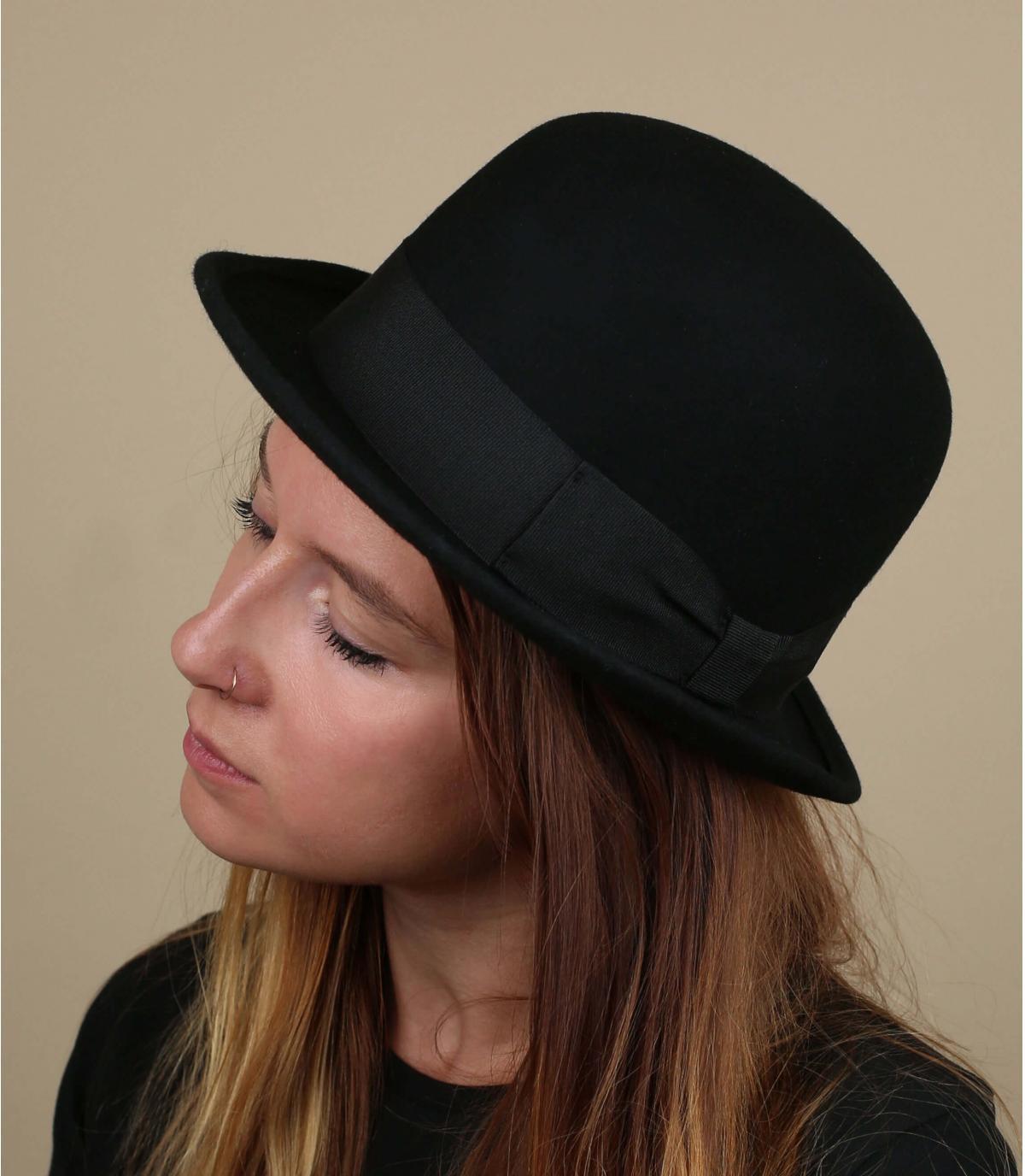 chapeau melon femme
