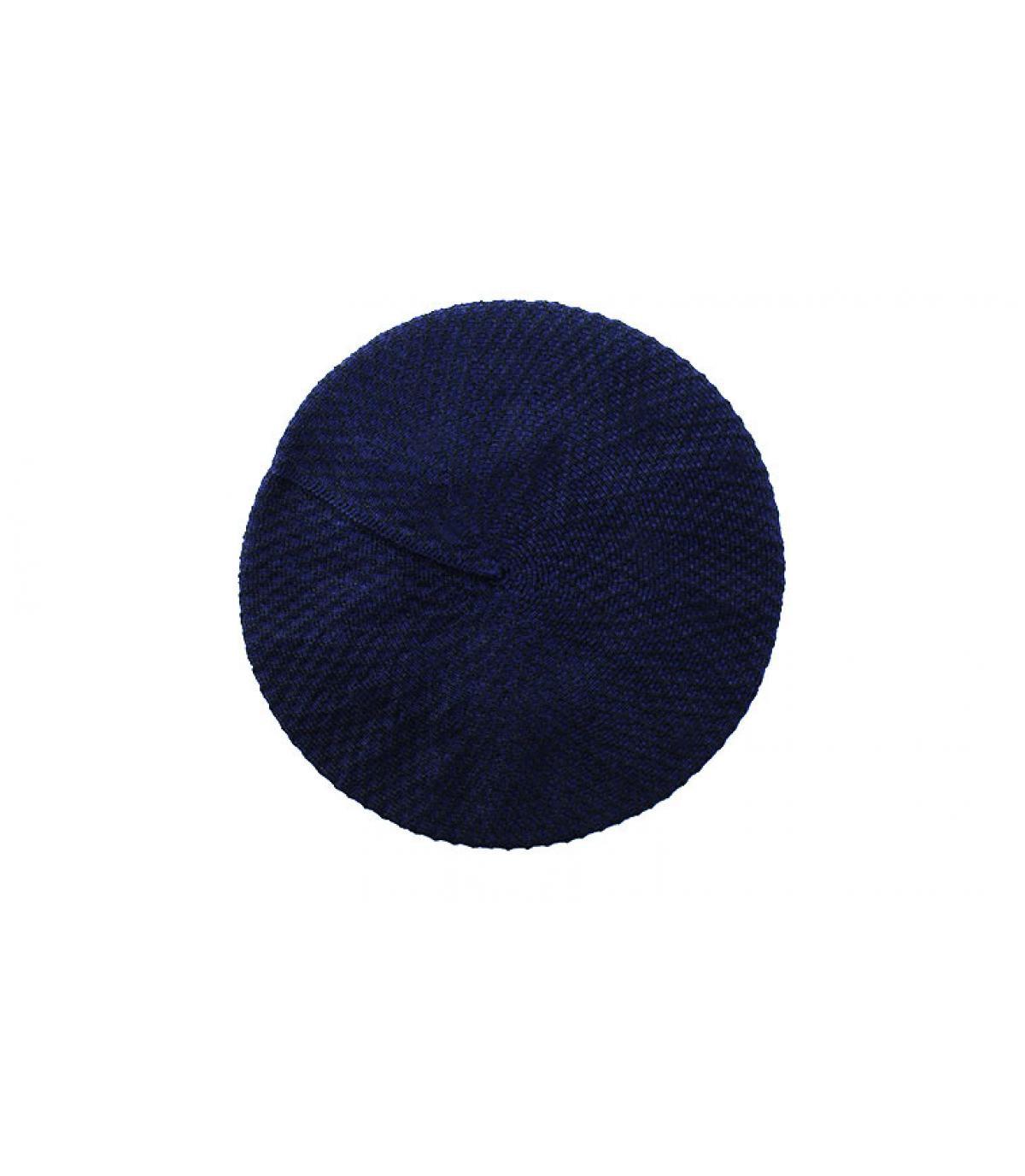 Barett Baumwolle blau Laulhère