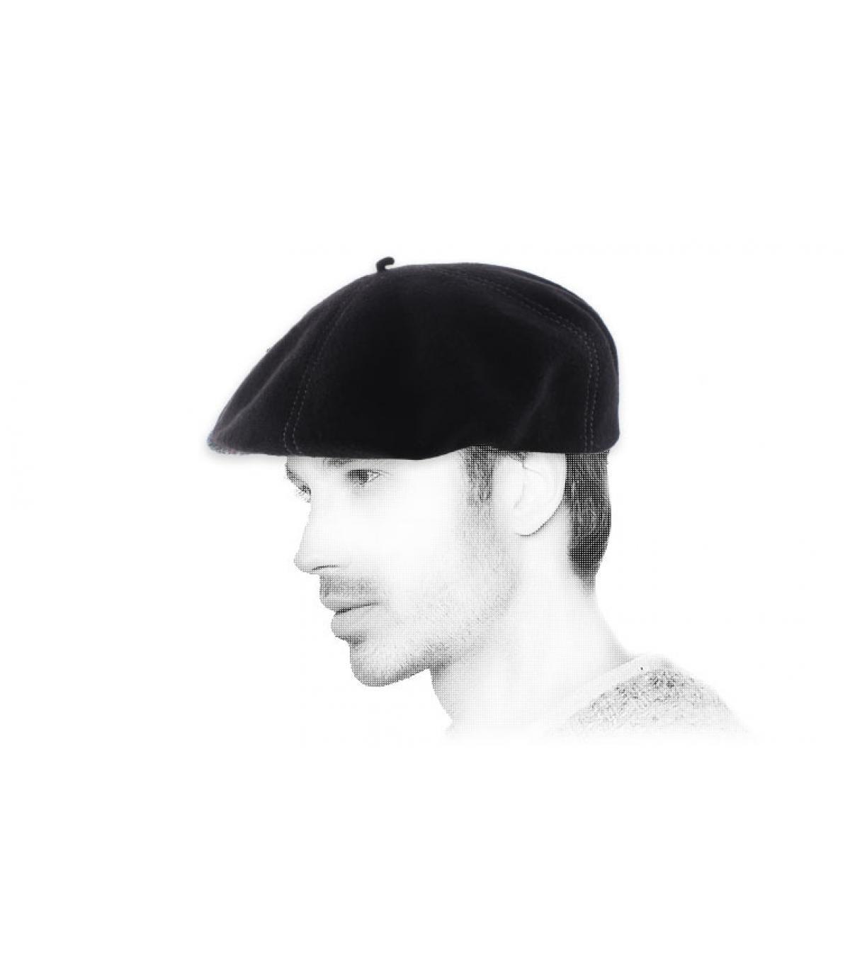 Barett Cap schwarz Wolle