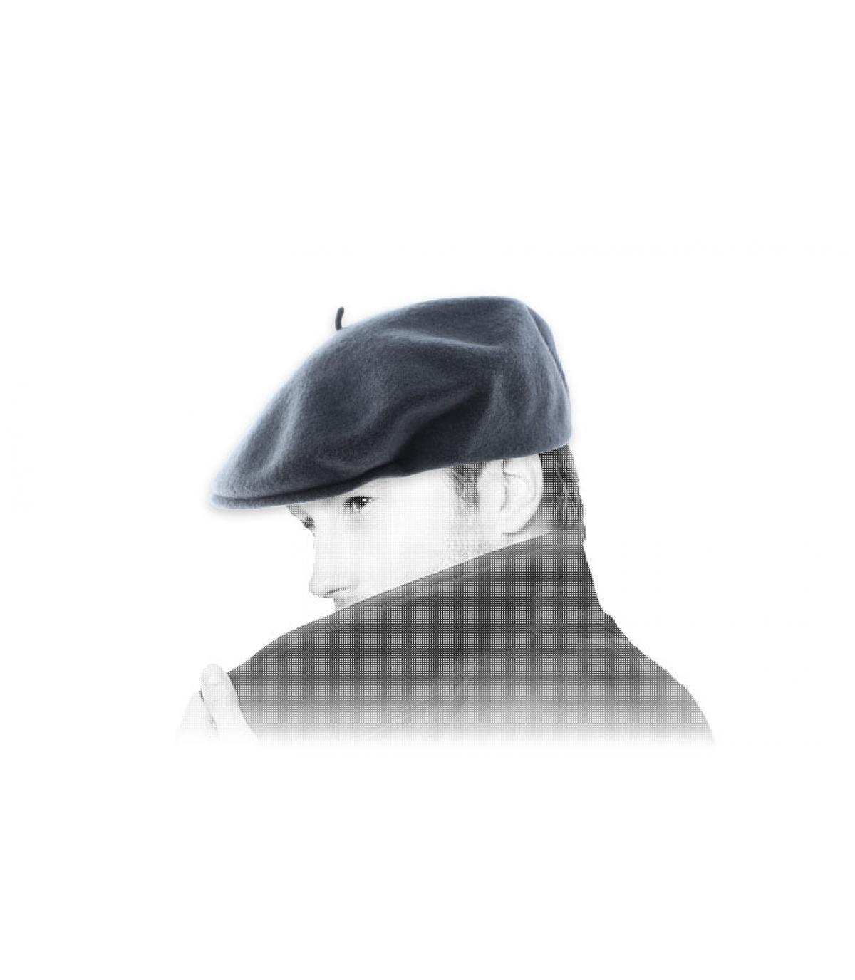 Barett grau Laulhère