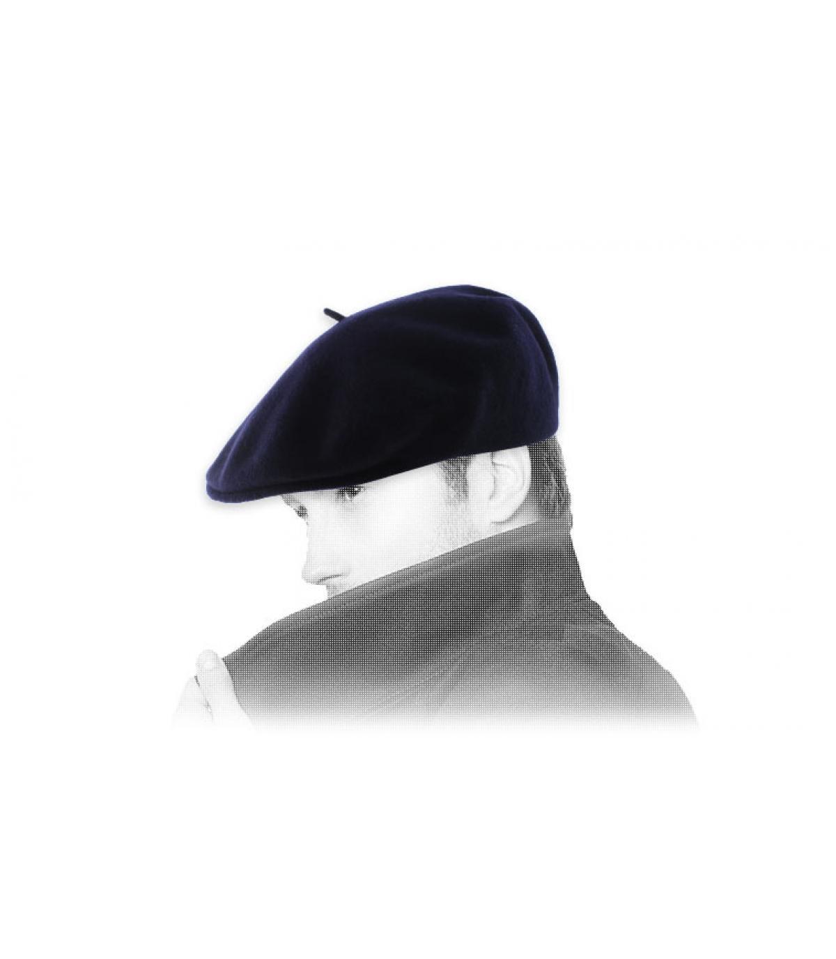Barett marineblau Laulhère
