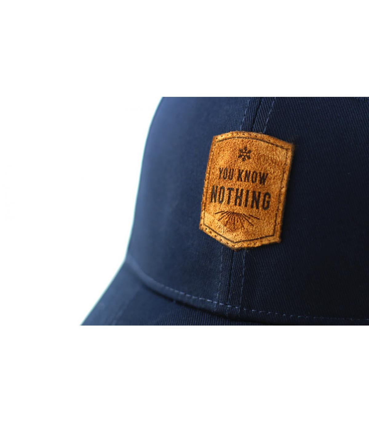 Details Curve You Know Nothing navy - Abbildung 3