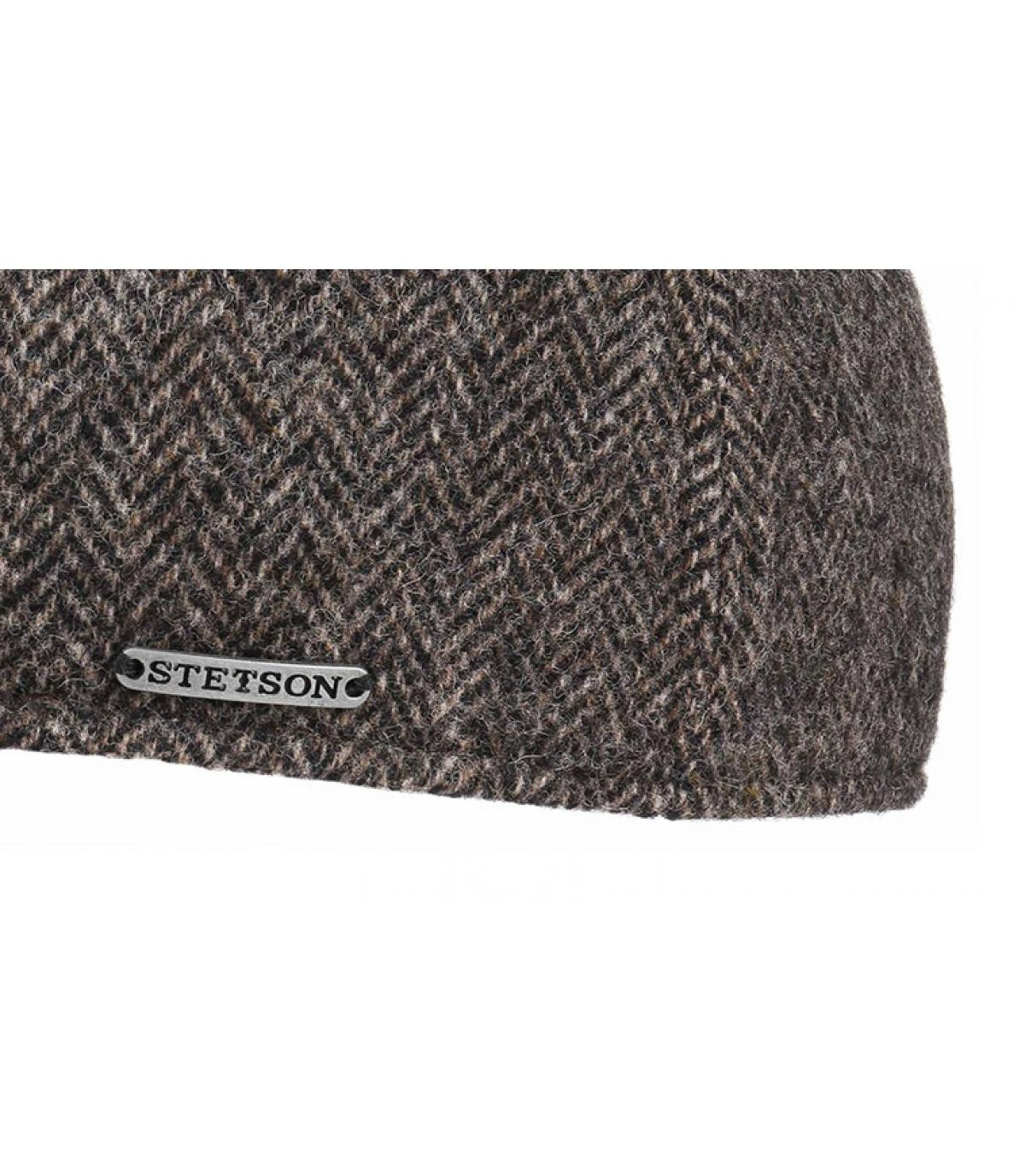 Details Texas Woolrich Herringbone grey - Abbildung 3
