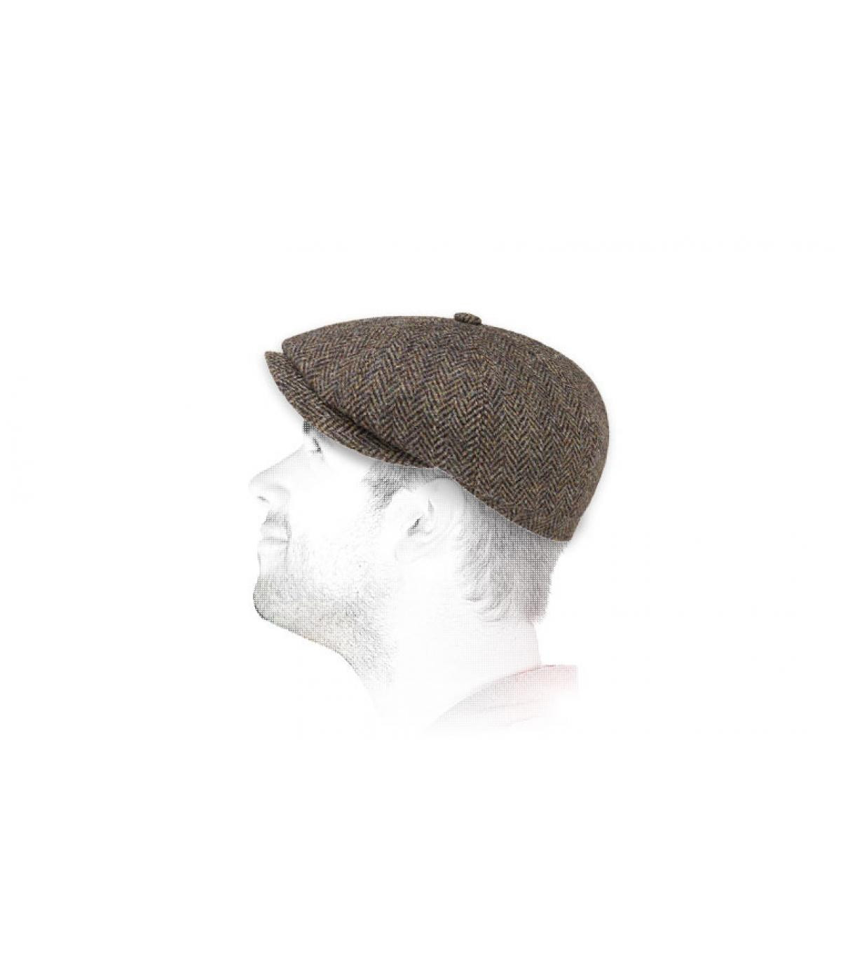 Gavroche Cap Tweed Stetson