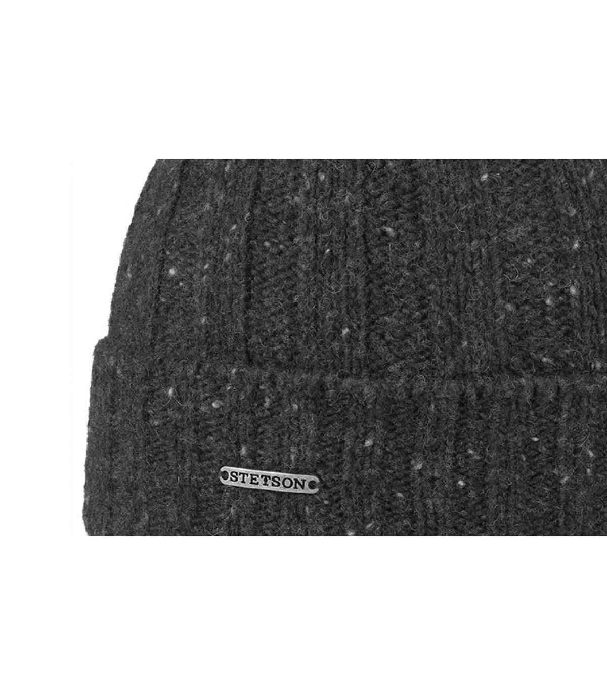 Details Beanie Wool grey - Abbildung 3
