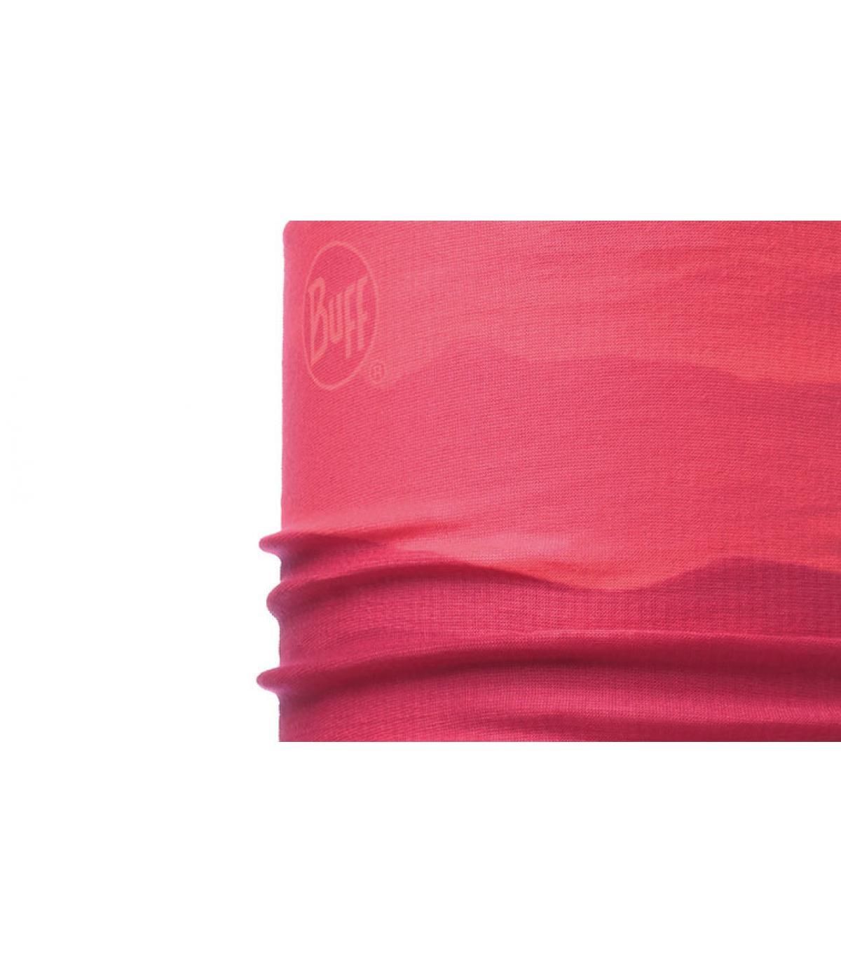 Schlauchschal Farbabstufung rosa Buff