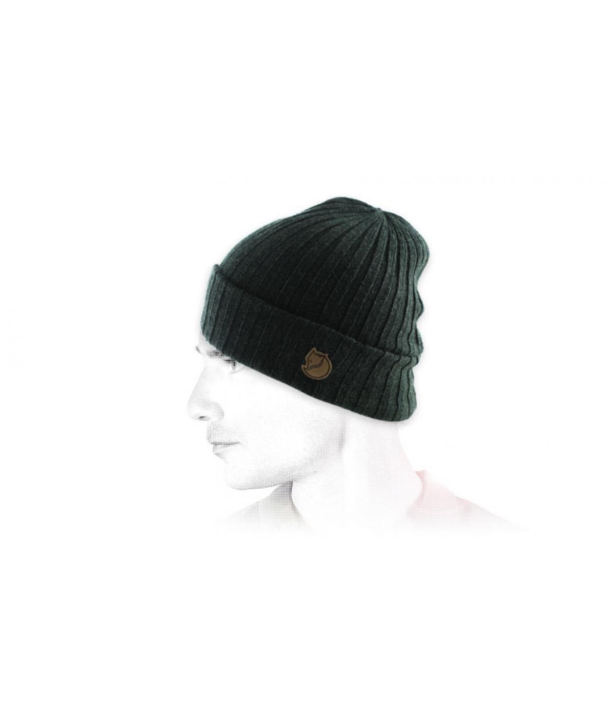 Grüne Mütze Revers Fjällräven