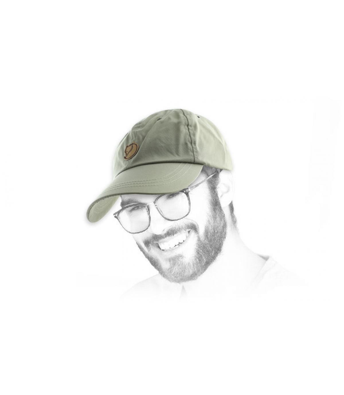 Khaki Curved Cap Fjällräven