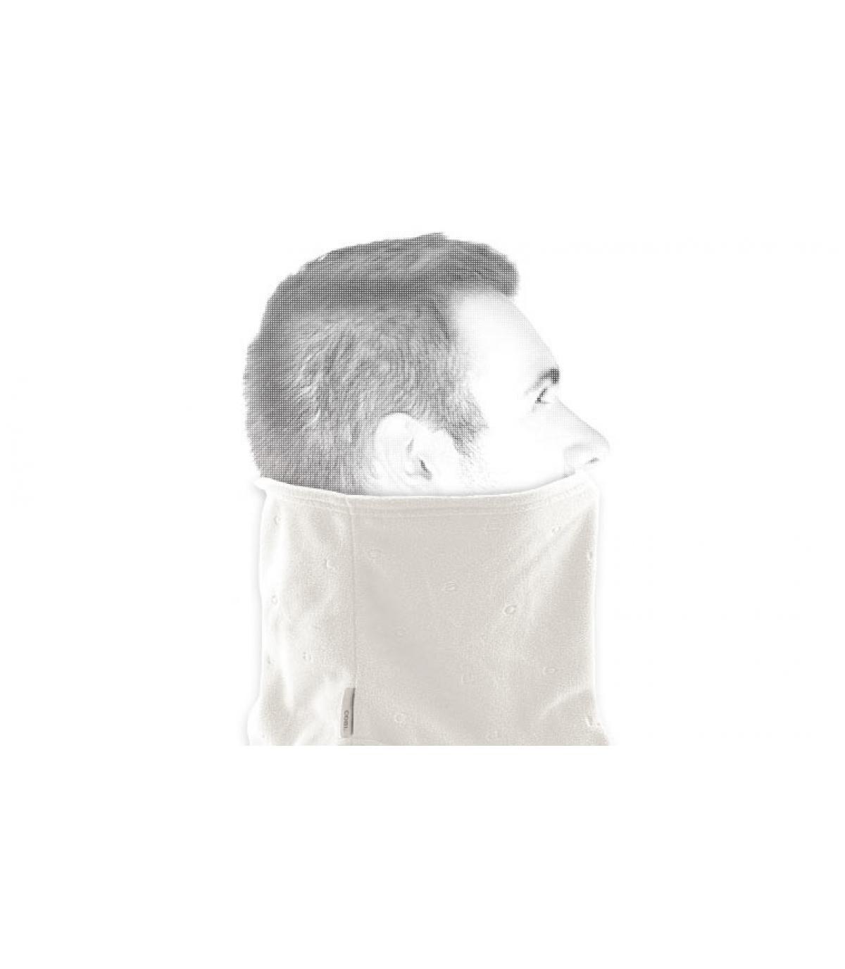 Weißer sportliche Schal