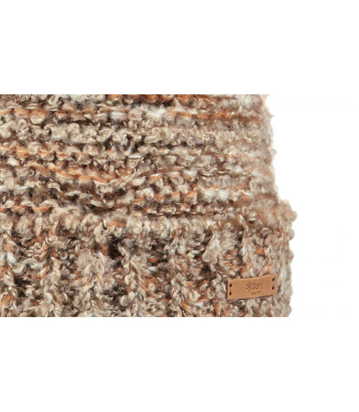 Details Siret Beanie brown - Abbildung 3
