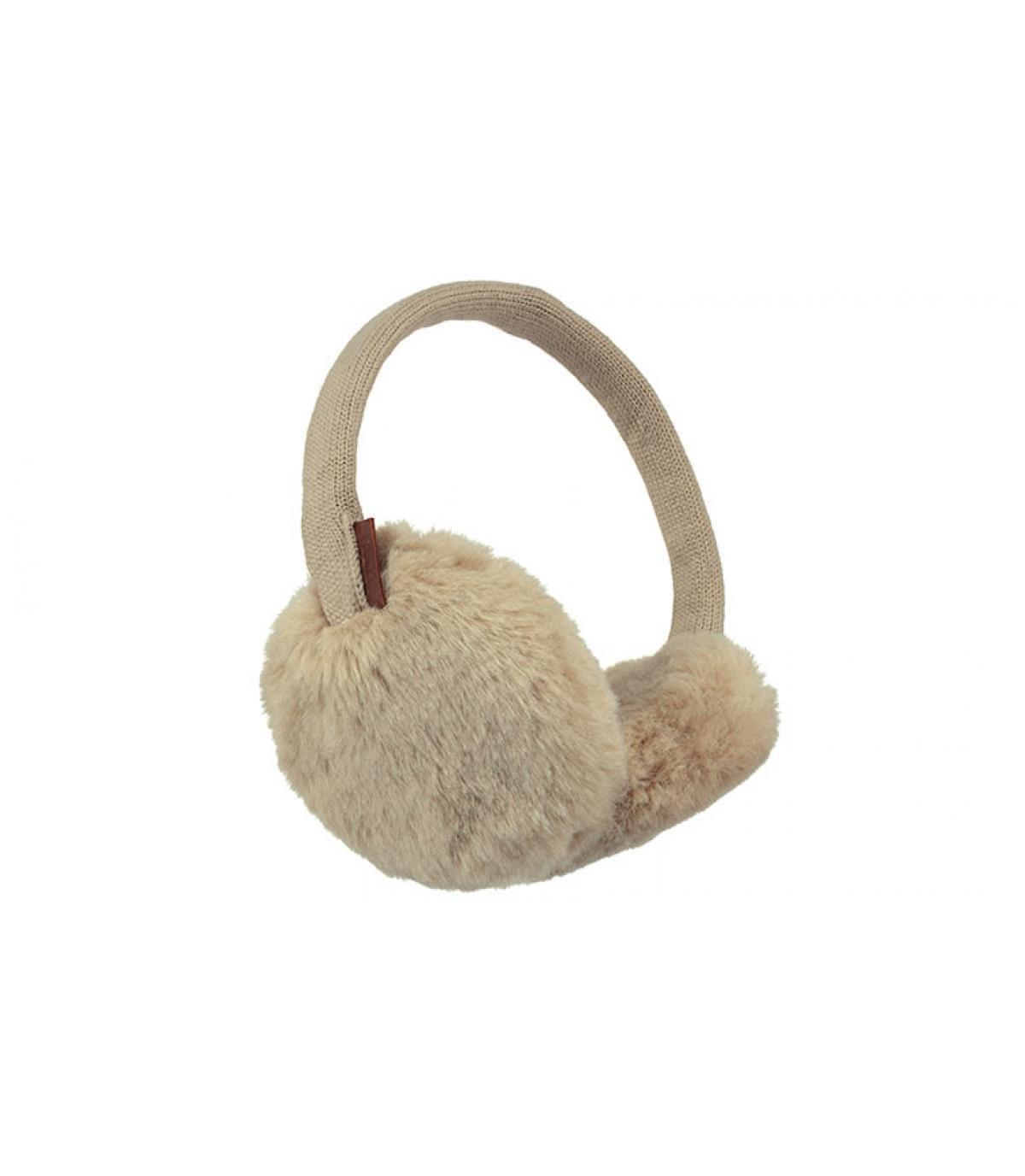 Ohrenschützer Fell beige